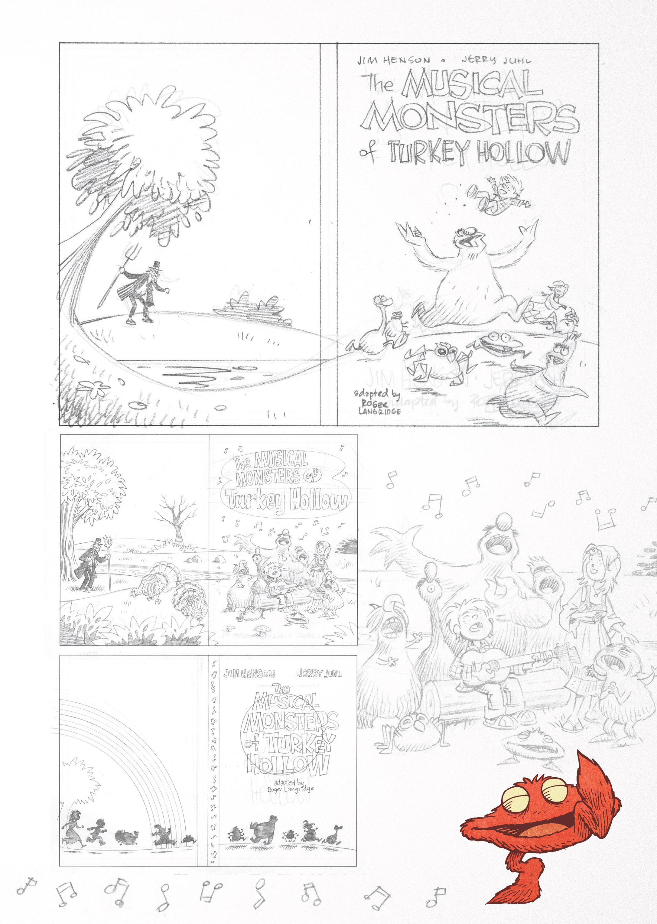 Read online Jim Henson's The Musical Monsters of Turkey Hollow comic -  Issue # Full - 85
