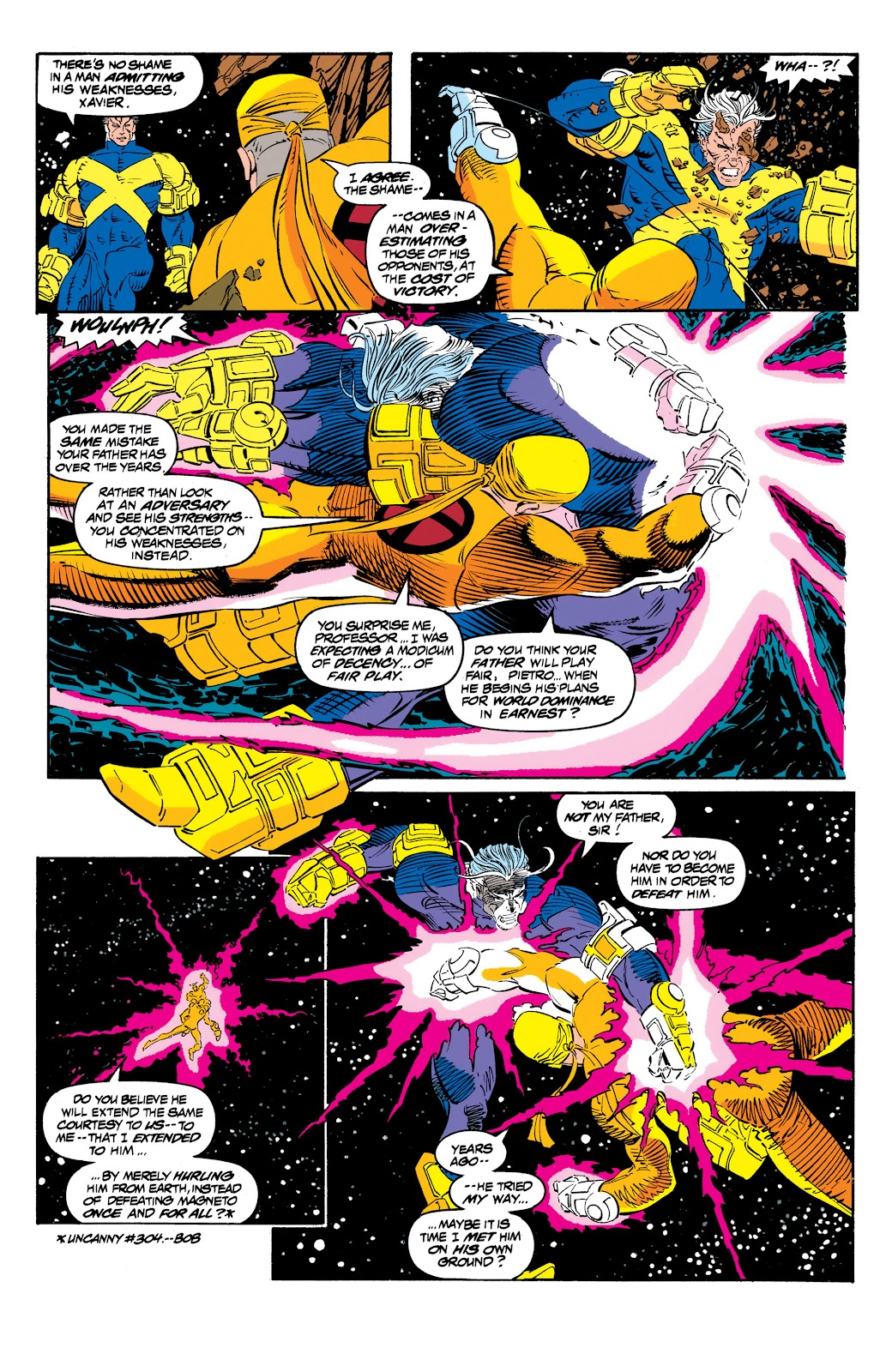 Uncanny X-Men (1963) issue 306 - Page 8