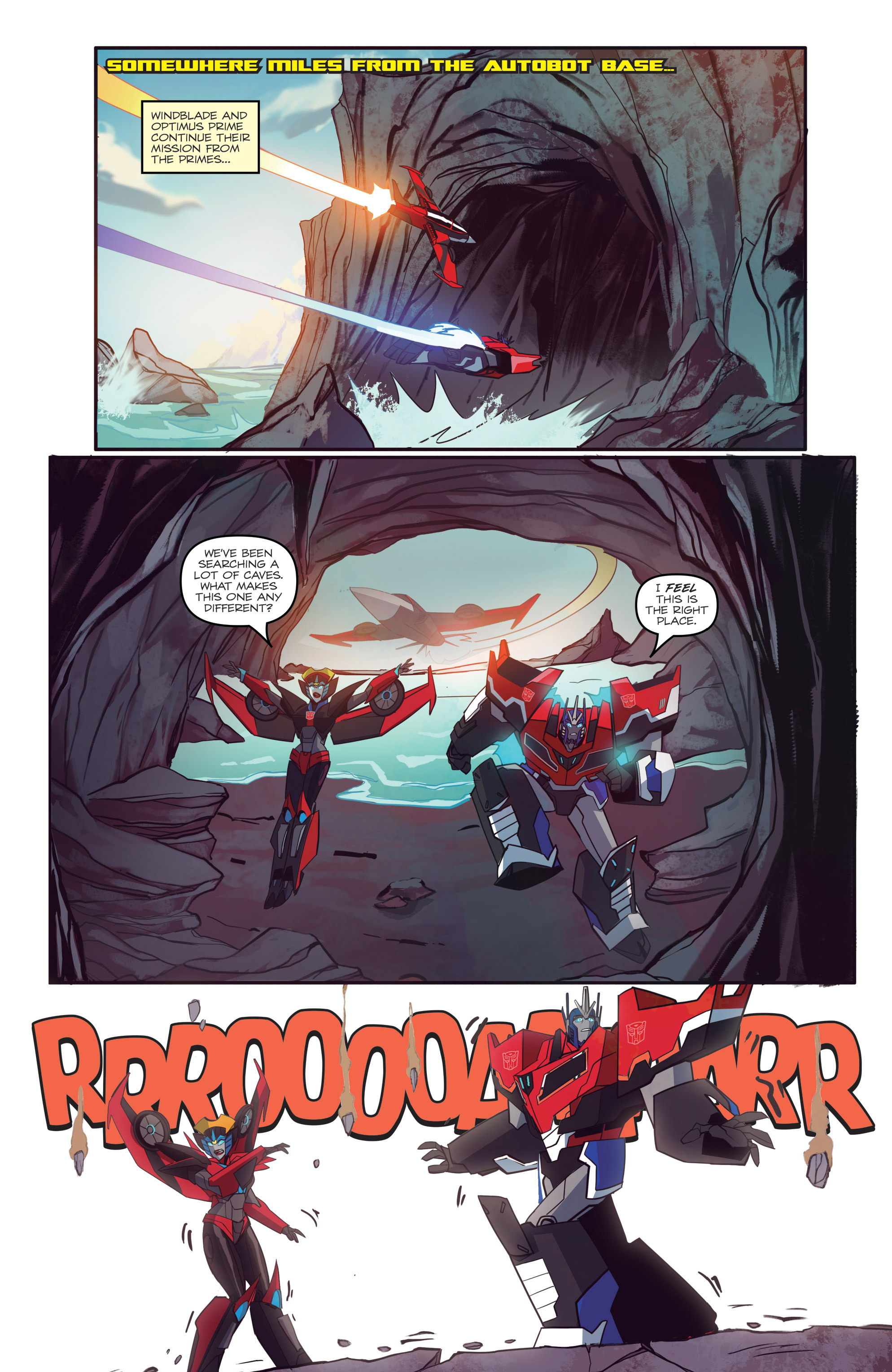 Read online Transformers: Robots In Disguise (2015) comic -  Issue #6 - 5