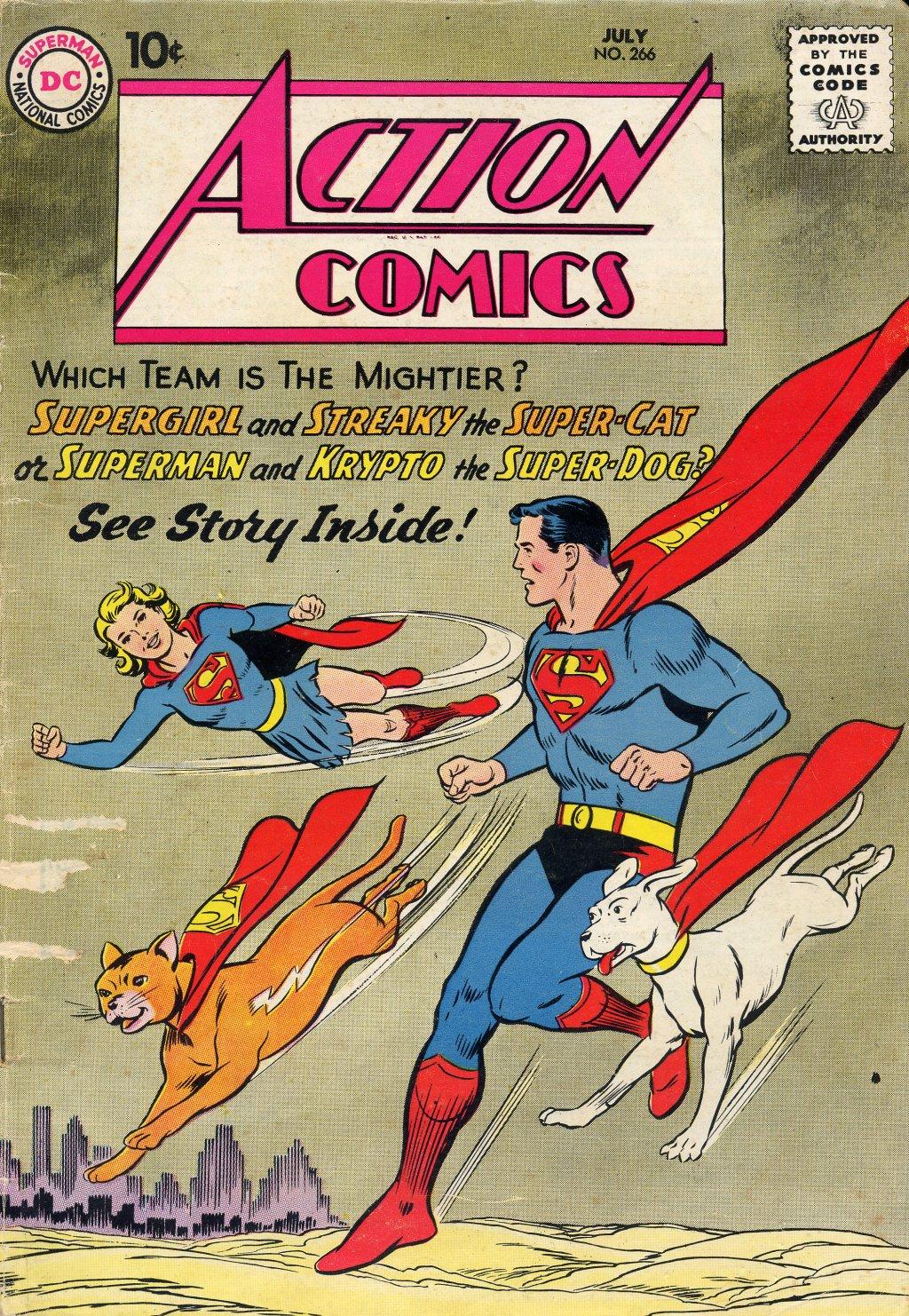 Action Comics (1938) 266 Page 1
