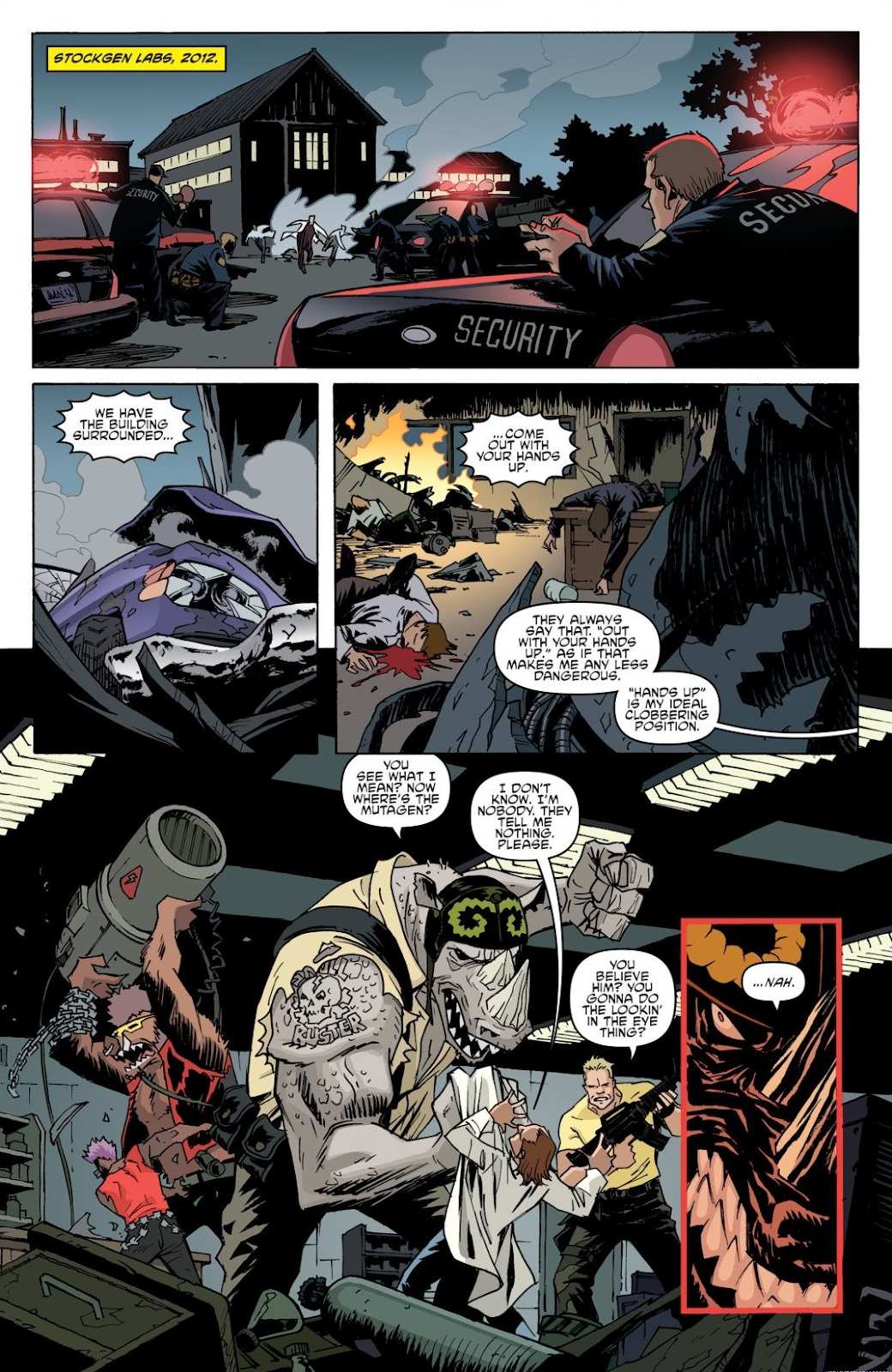 Read online Teenage Mutant Ninja Turtles: The IDW Collection comic -  Issue # TPB 8 (Part 1) - 54