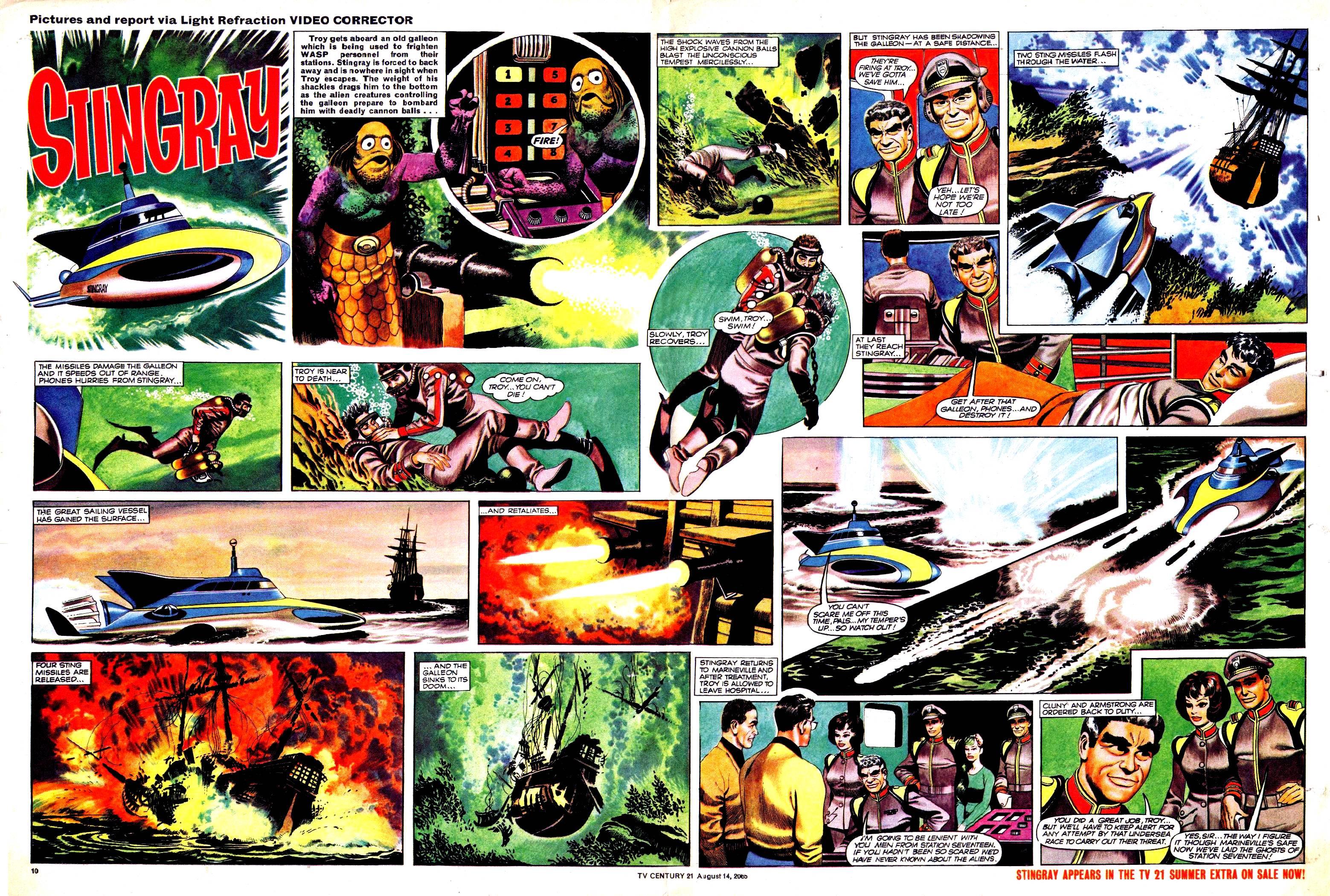 Read online TV Century 21 (TV 21) comic -  Issue #30 - 10