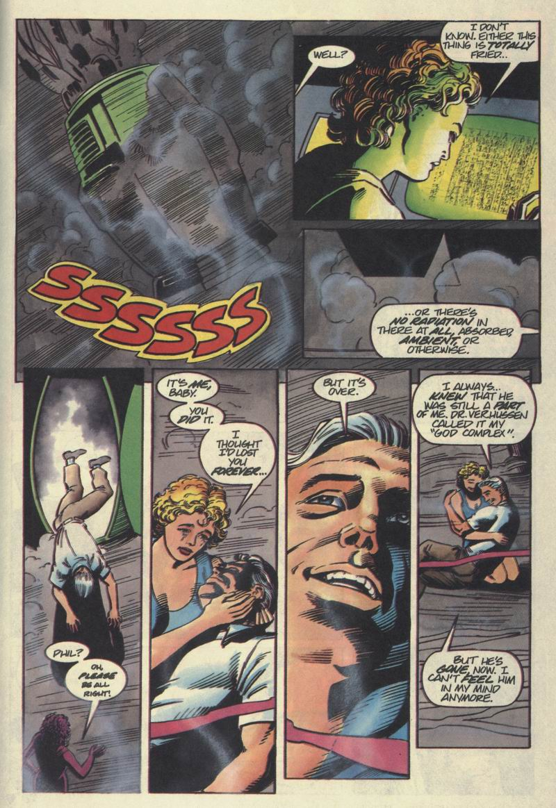 Read online Solar, Man of the Atom comic -  Issue #40 - 20