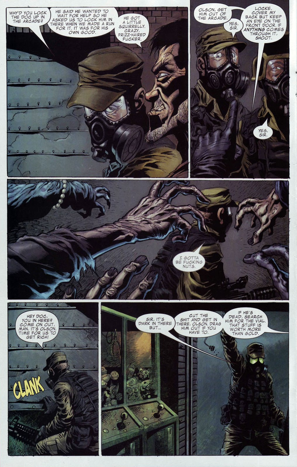 Read online Zombie (2006) comic -  Issue #4 - 6