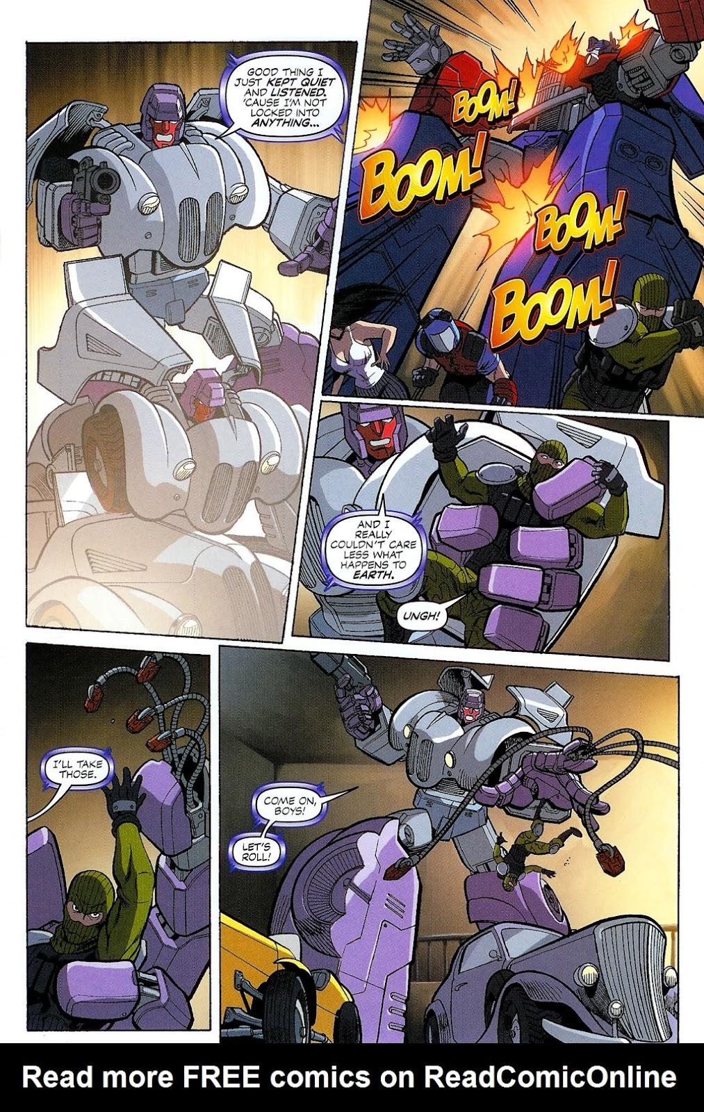G.I. Joe vs. The Transformers II Issue #2 #3 - English 17