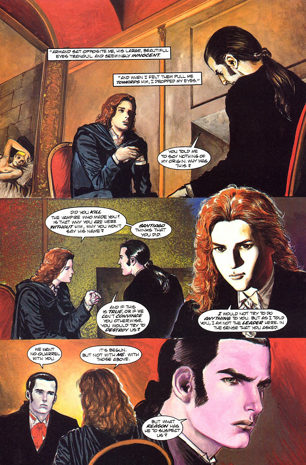 Read online Anne Rice's Interview with the Vampire comic -  Issue #9 - 9