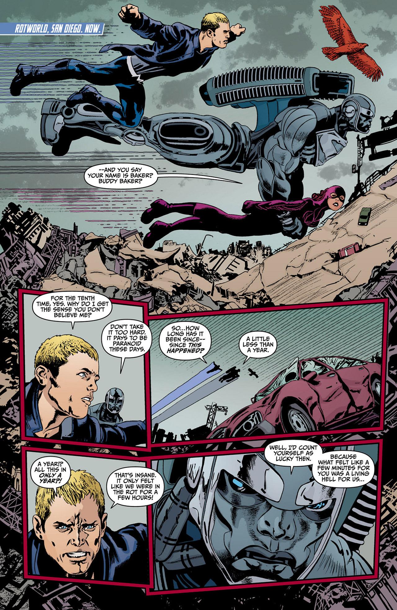 Read online Animal Man (2011) comic -  Issue #13 - 11