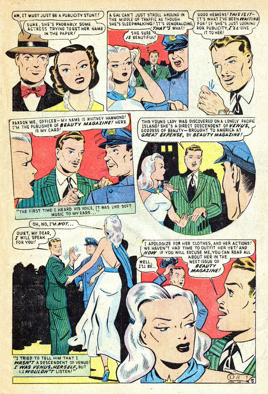 Venus (1948) issue 1 - Page 7