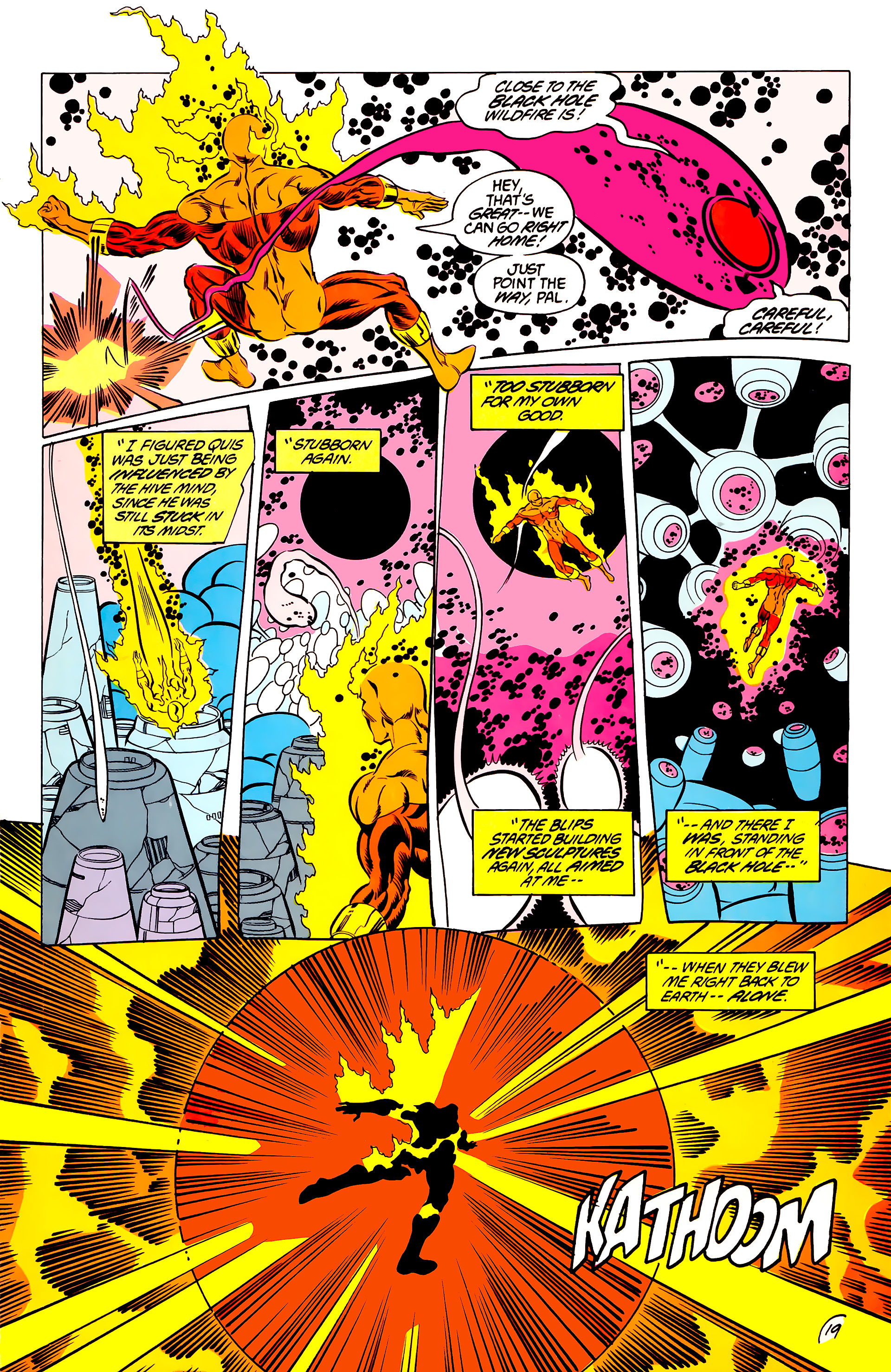 Legion of Super-Heroes (1984) 44 Page 19