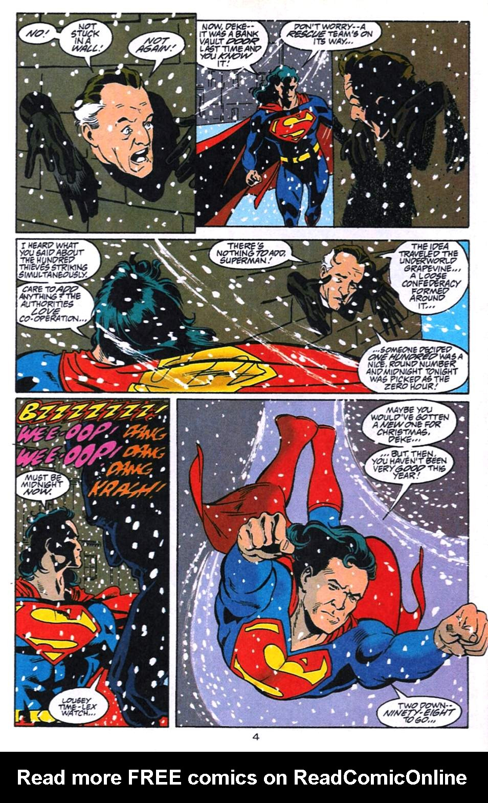 Read online Adventures of Superman (1987) comic -  Issue #520 - 5
