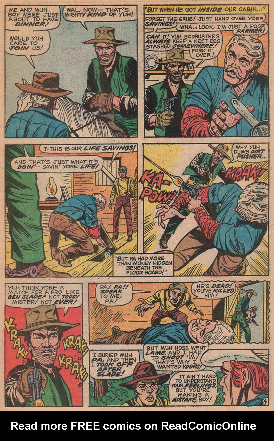 The Rawhide Kid (1955) issue 88 - Page 7