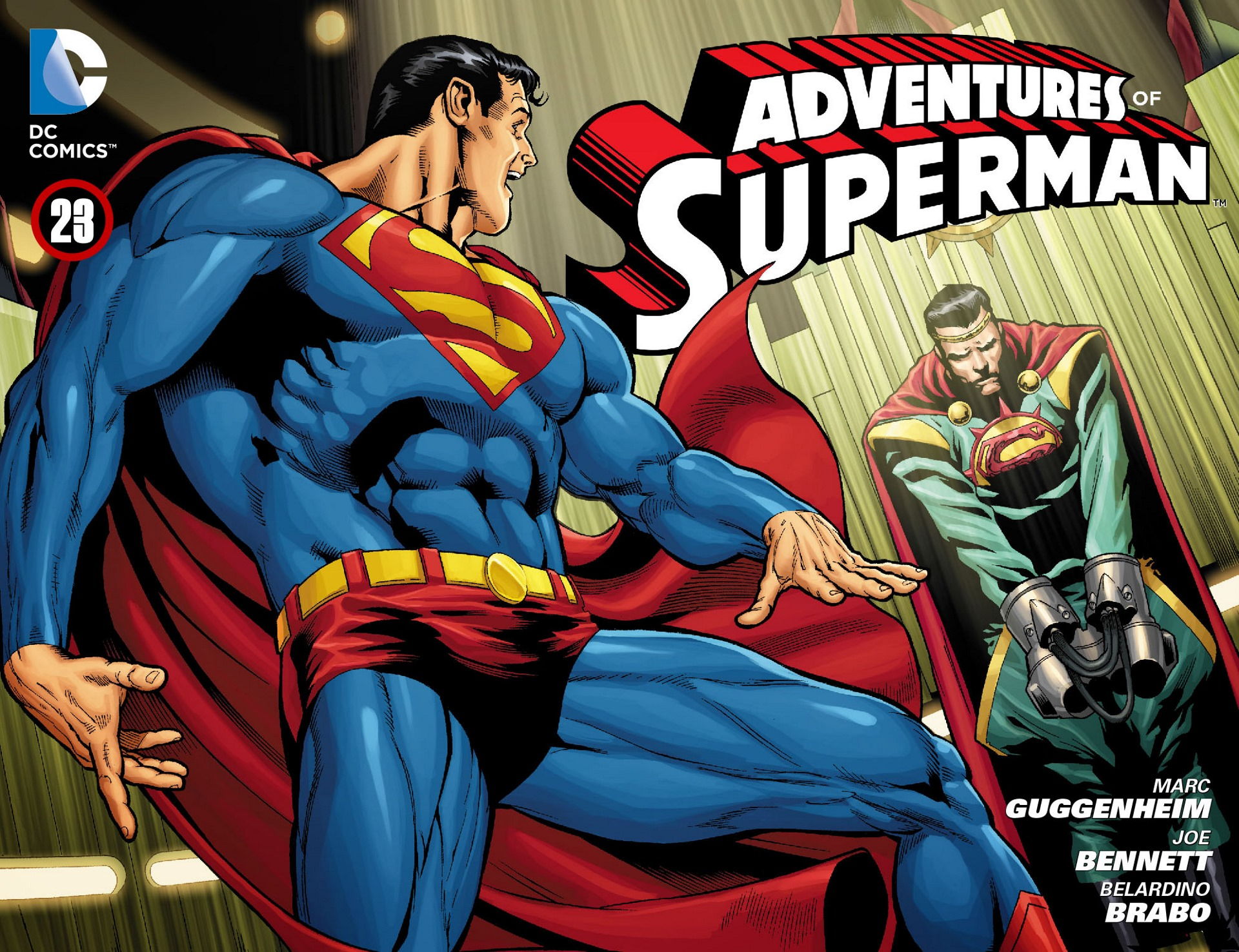 Read online Adventures of Superman [I] comic -  Issue #23 - 1