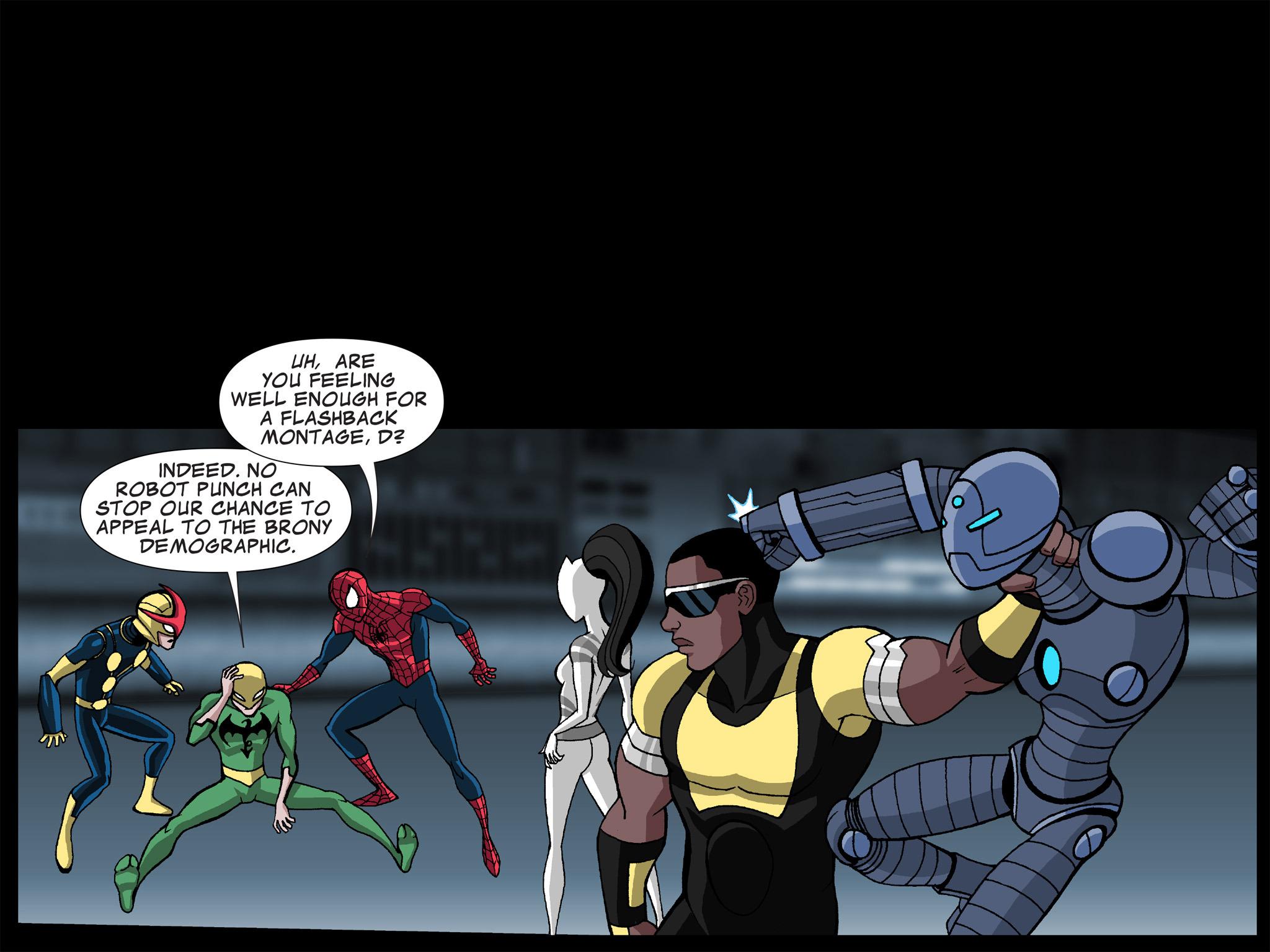 Read online Ultimate Spider-Man (Infinite Comics) (2015) comic -  Issue #21 - 22