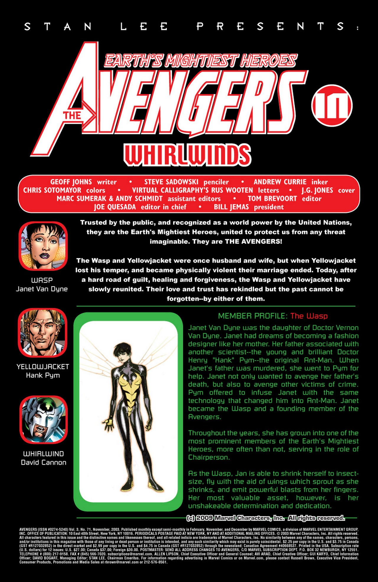 Read online Avengers (1998) comic -  Issue #71 - 2