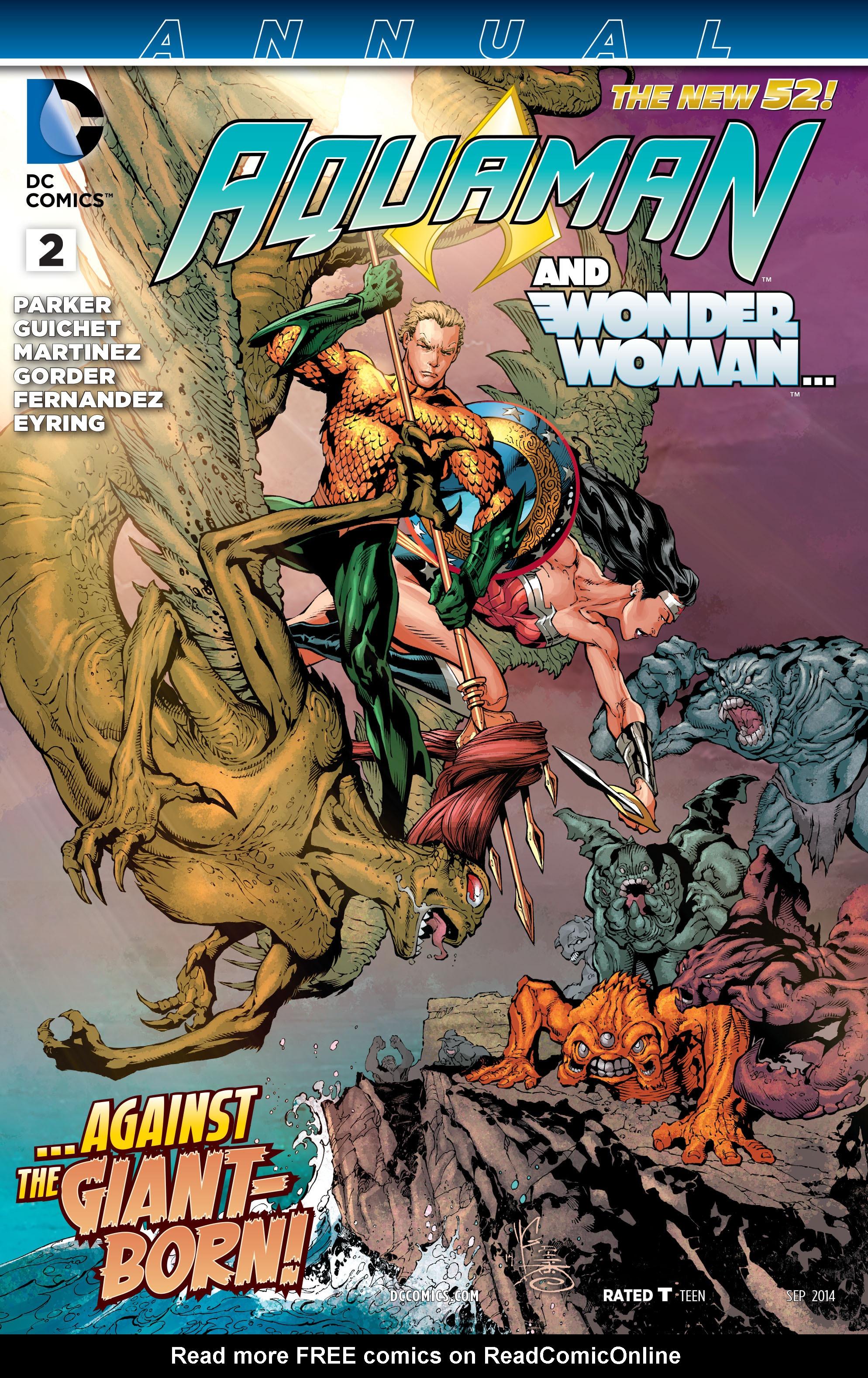 Read online Aquaman (2011) comic -  Issue #Aquaman (2011) _Annual 2 - 1
