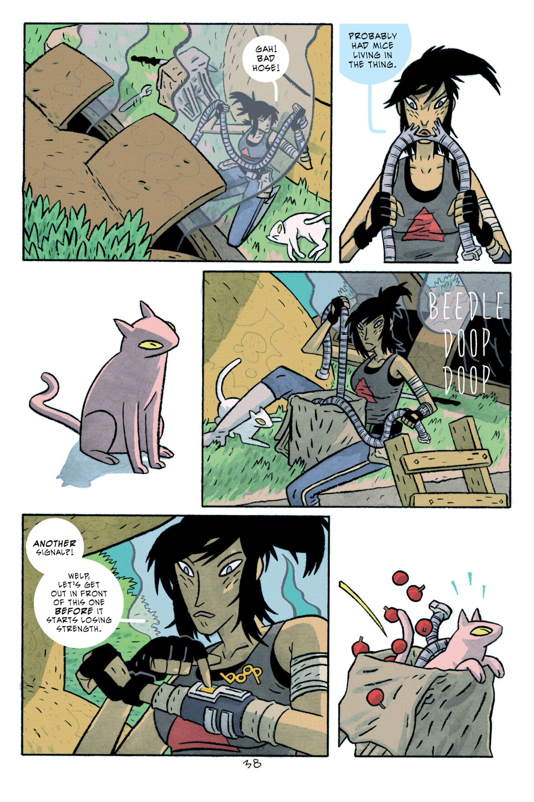 Read online ApocalyptiGirl: An Aria for the End Times comic -  Issue #ApocalyptiGirl: An Aria for the End Times Full - 46