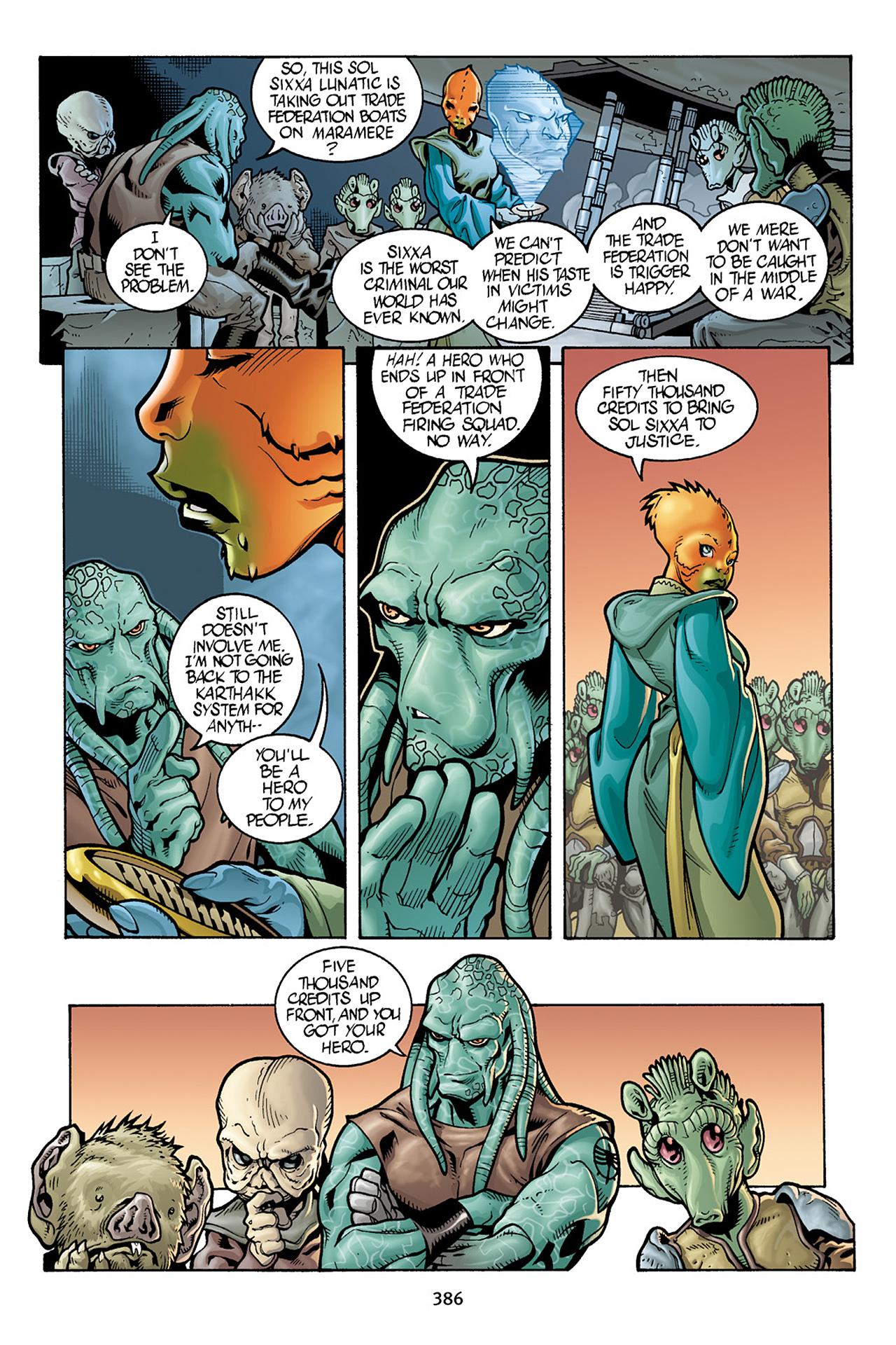 Read online Star Wars Omnibus comic -  Issue # Vol. 10 - 379
