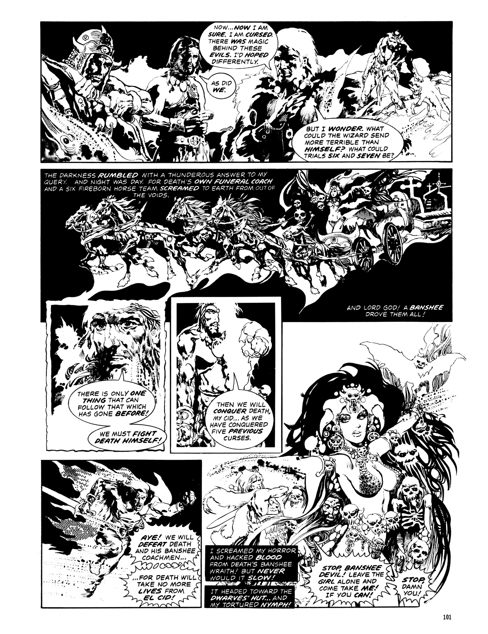 Read online Eerie Archives comic -  Issue # TPB 14 - 102