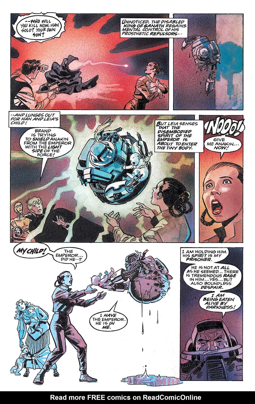 Read online Star Wars: Dark Empire Trilogy comic -  Issue # TPB (Part 4) - 52