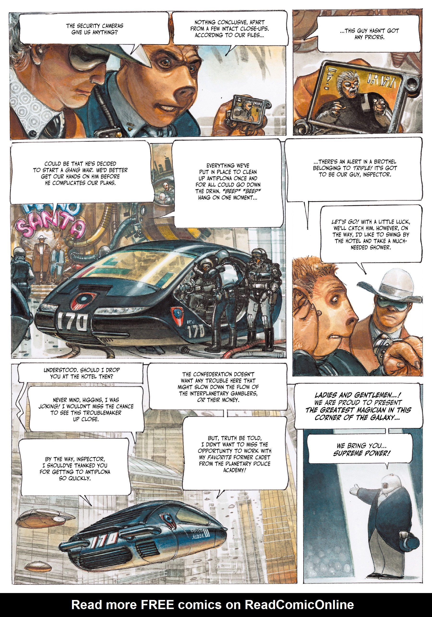 Read online The Fourth Power comic -  Issue #2 - 11