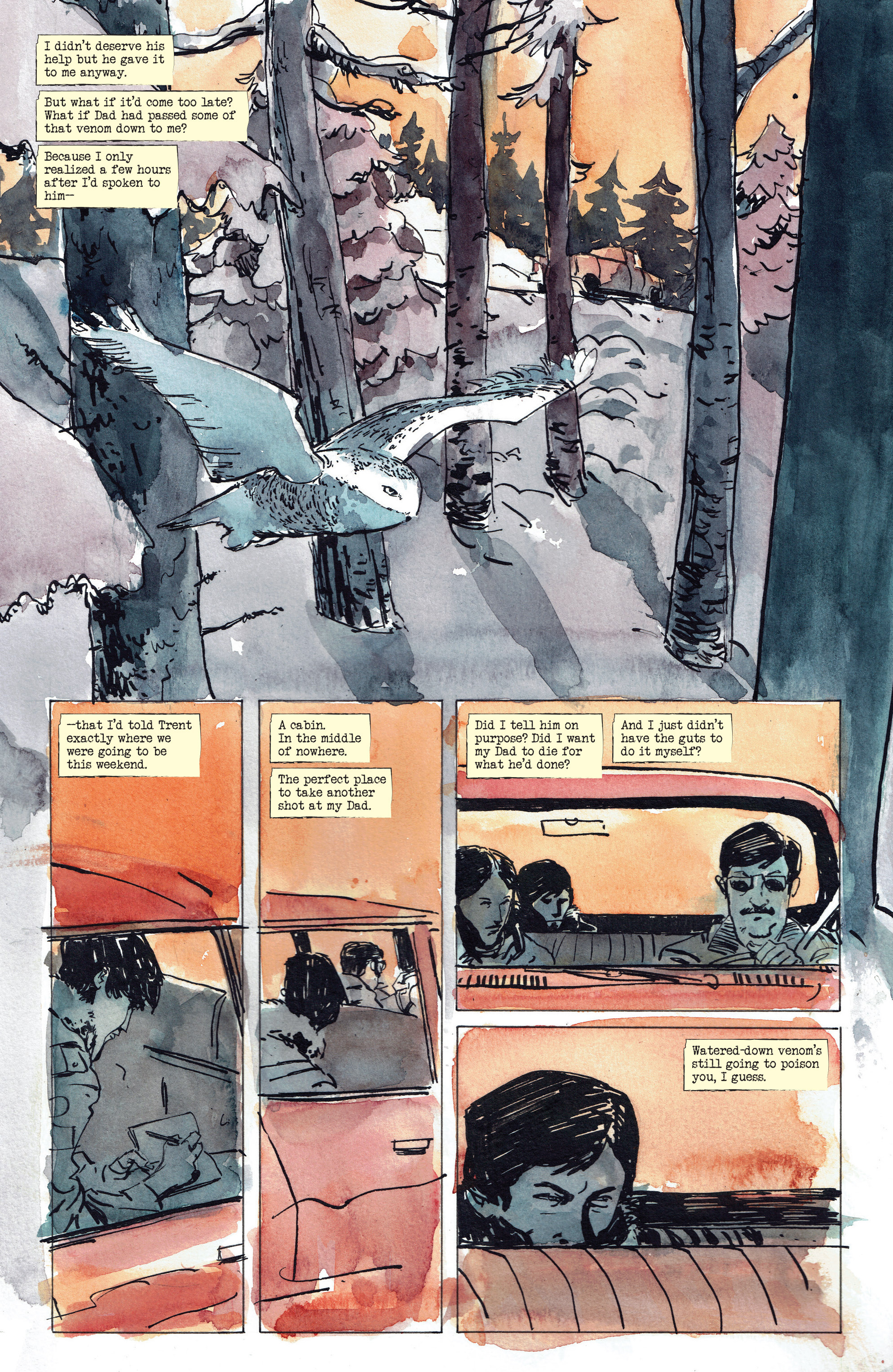 Read online Snow Blind comic -  Issue #3 - 13