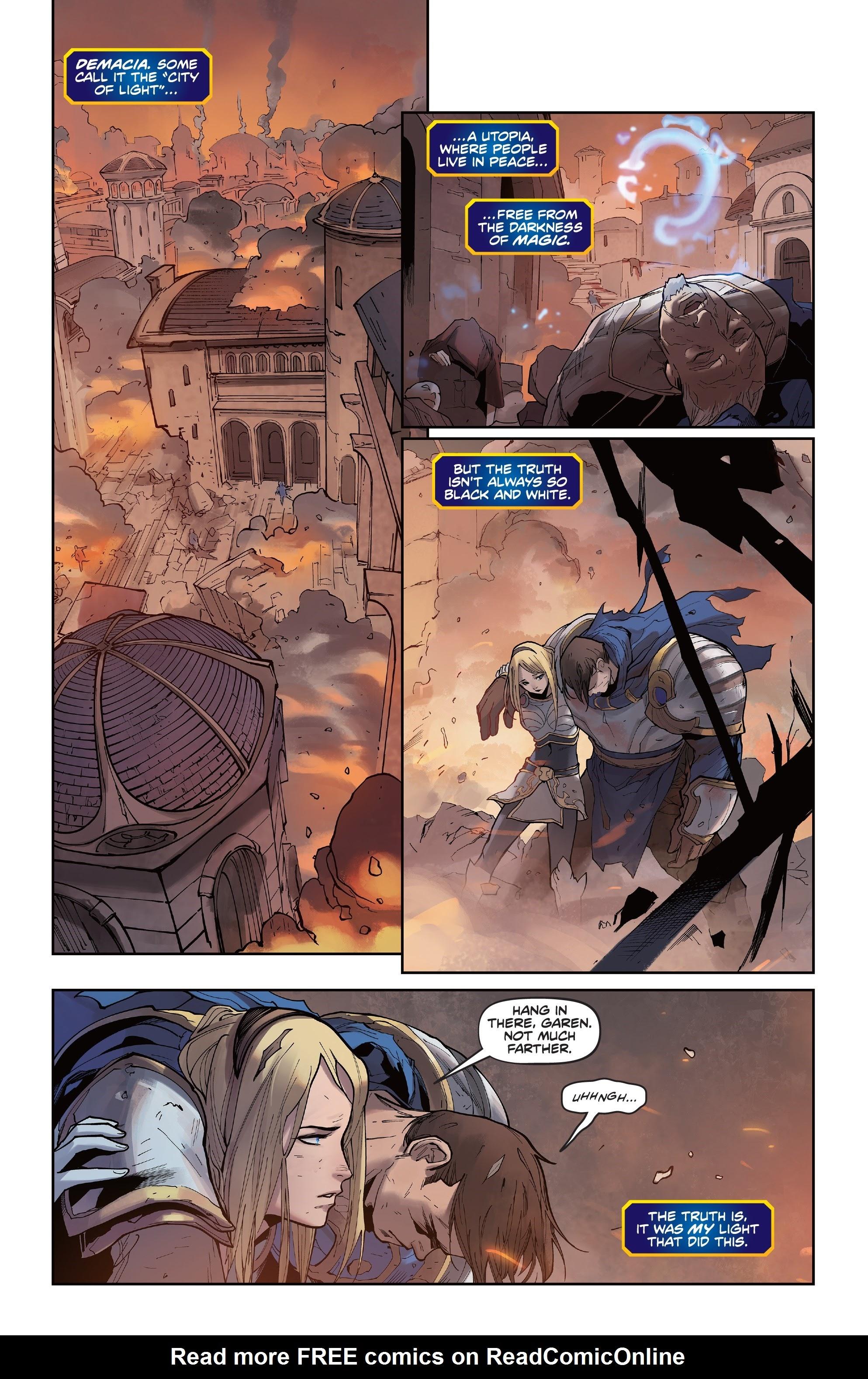 League of Legends: Lux 1 Page 3