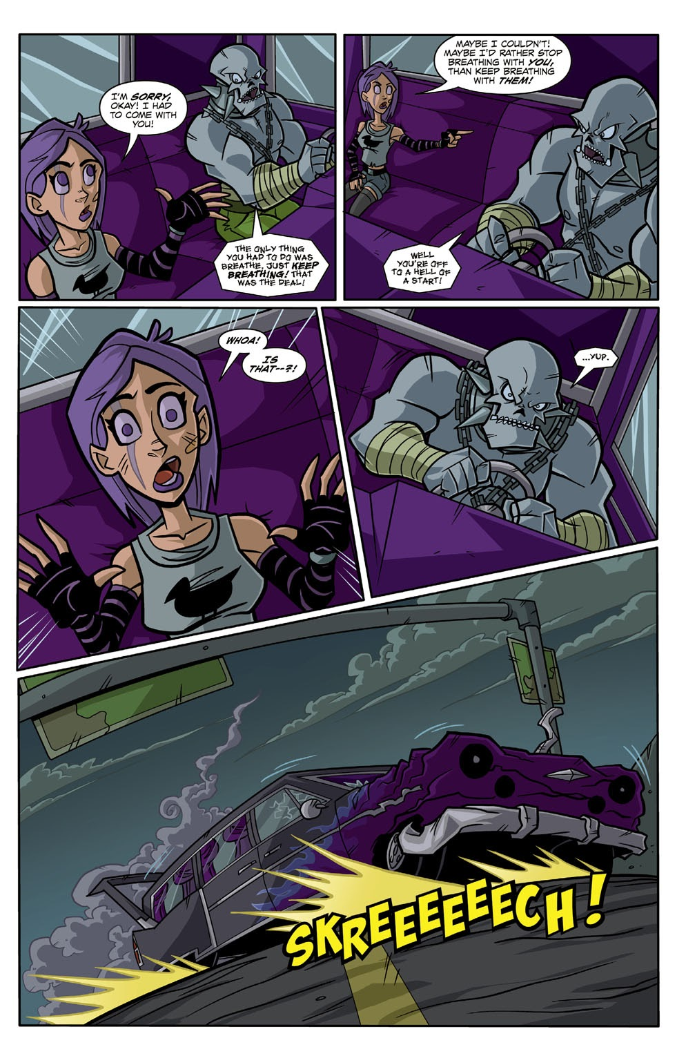 Read online Xombie Reanimated comic -  Issue #3 - 21