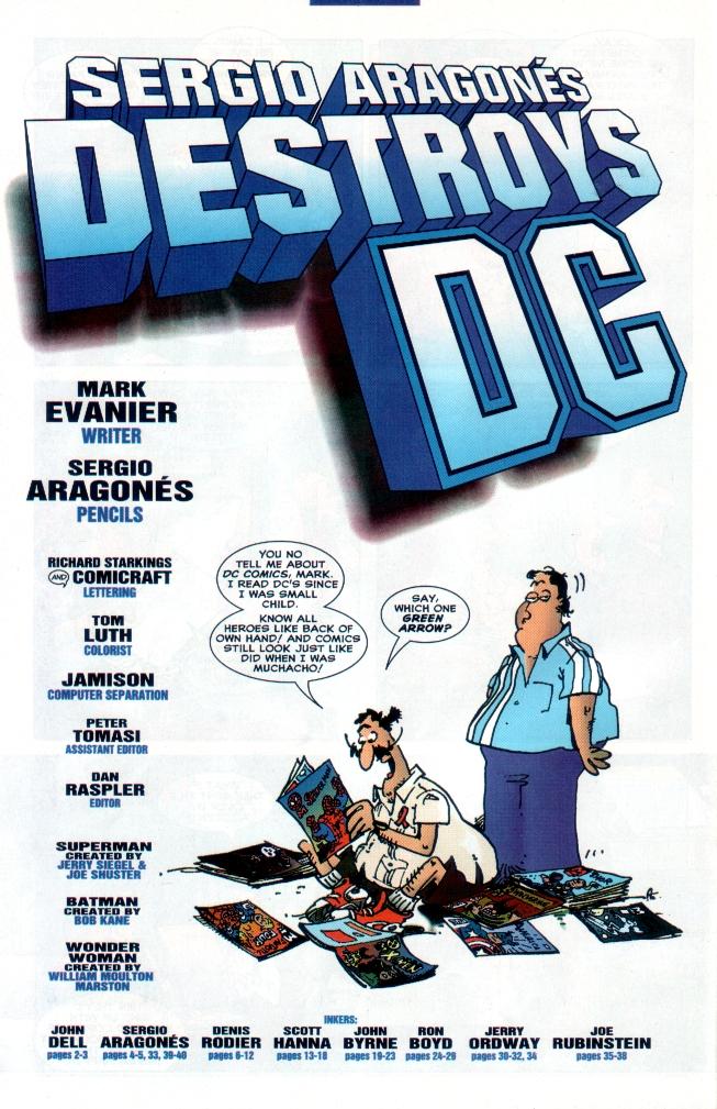 Read online Sergio Aragones Destroys DC comic -  Issue # Full - 42