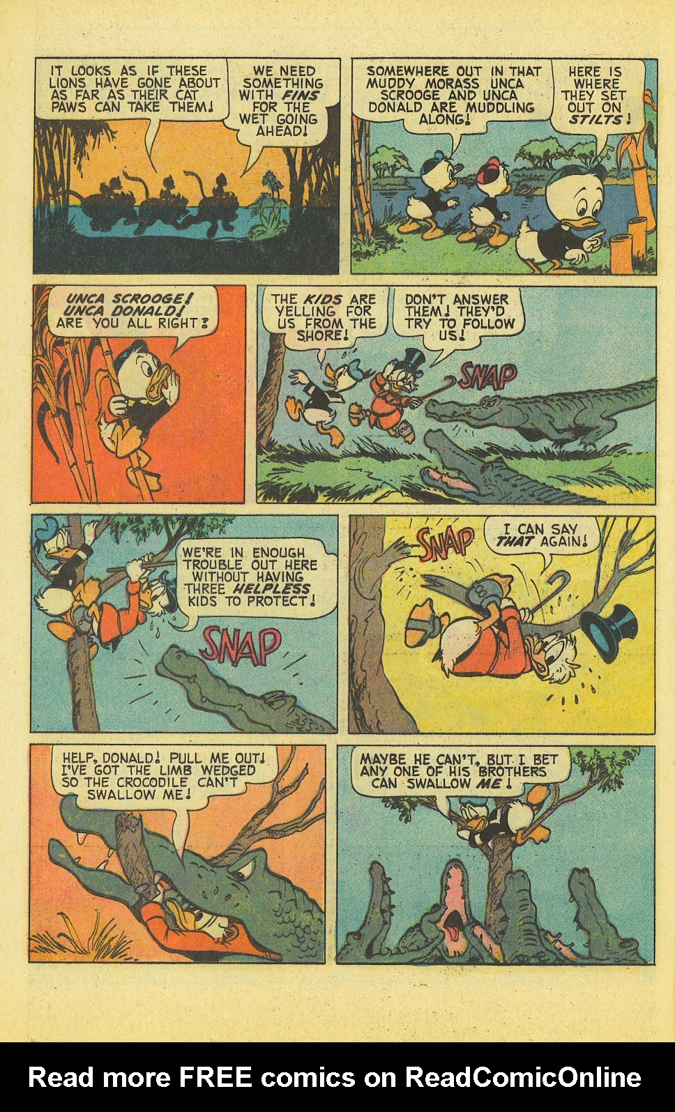 Read online Uncle Scrooge (1953) comic -  Issue #127 - 16