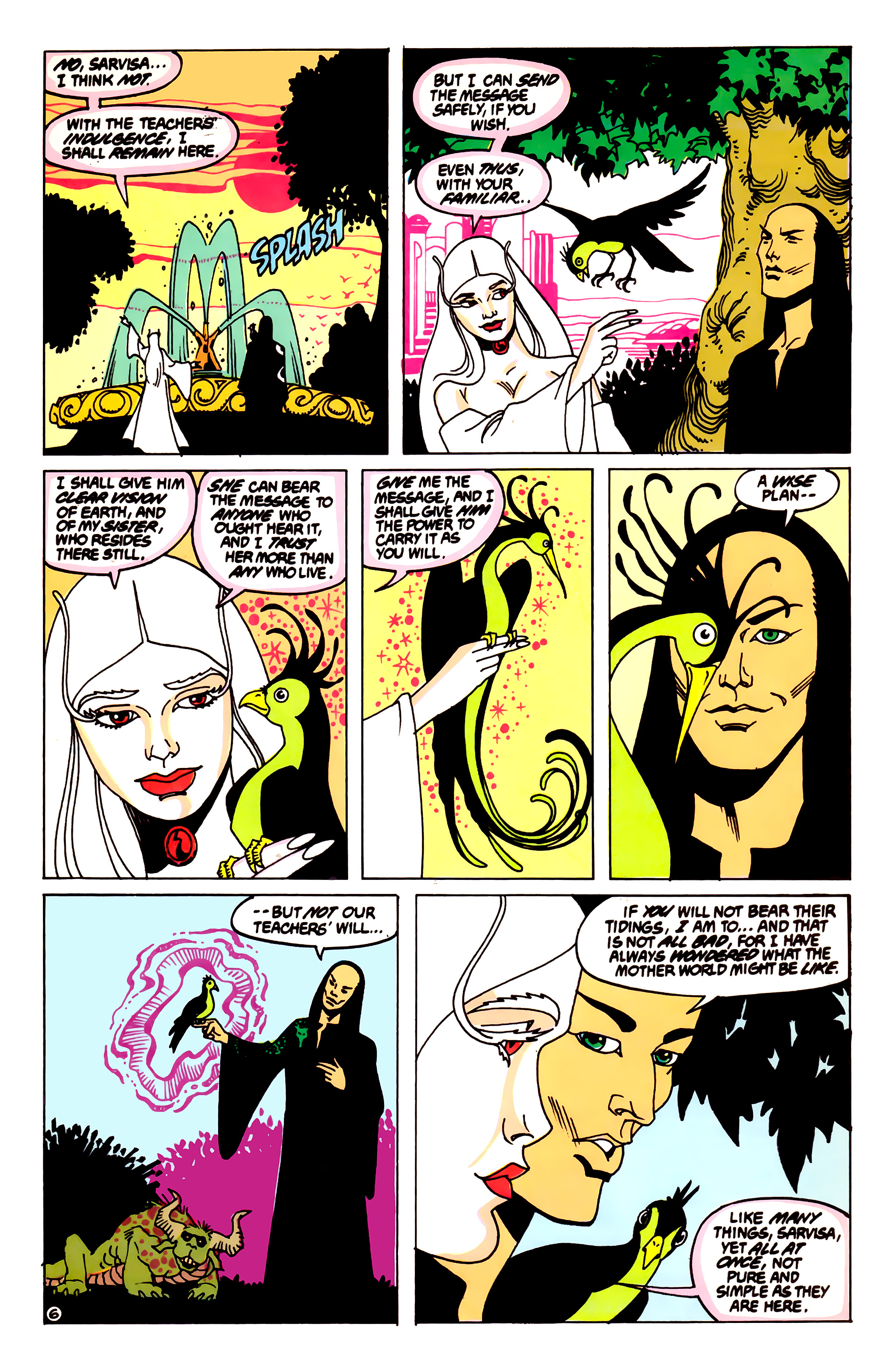 Legion of Super-Heroes (1984) 55 Page 6