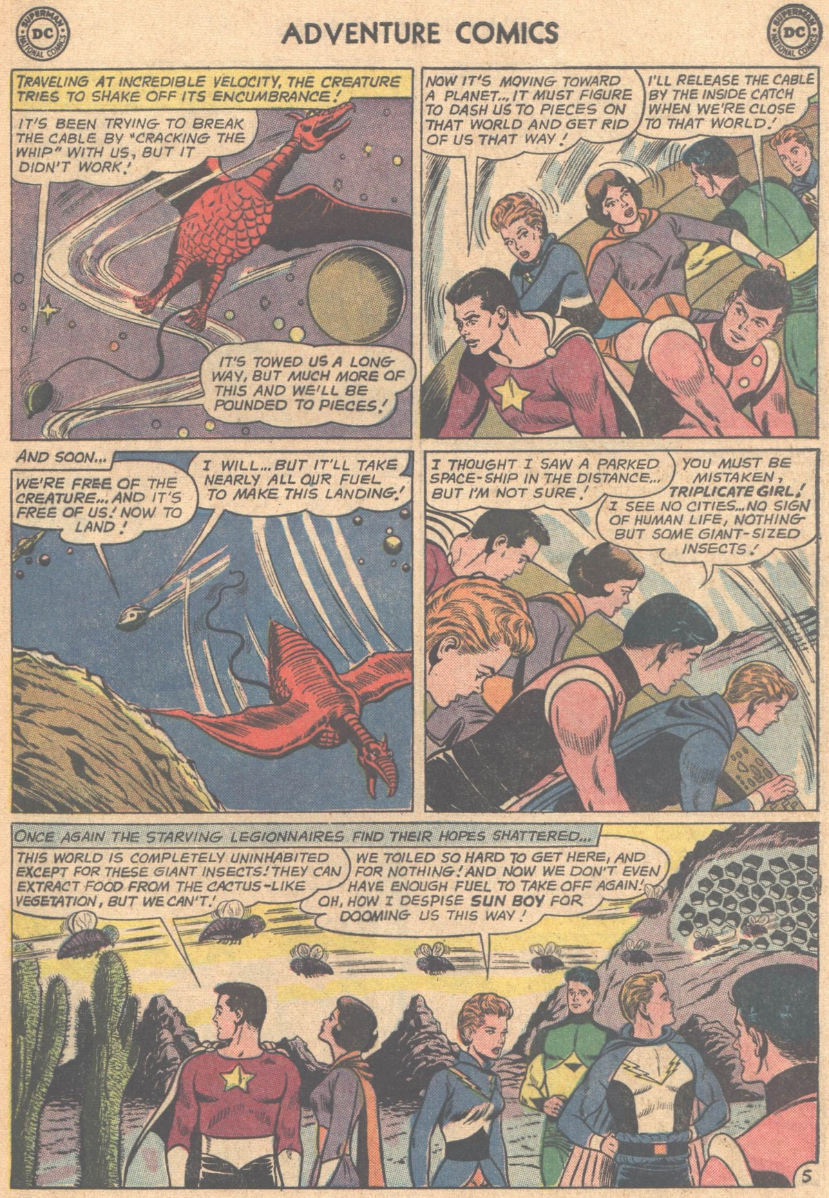 Read online Adventure Comics (1938) comic -  Issue #318 - 17