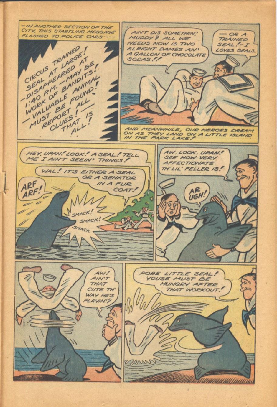 Read online Super-Magician Comics comic -  Issue #38 - 29
