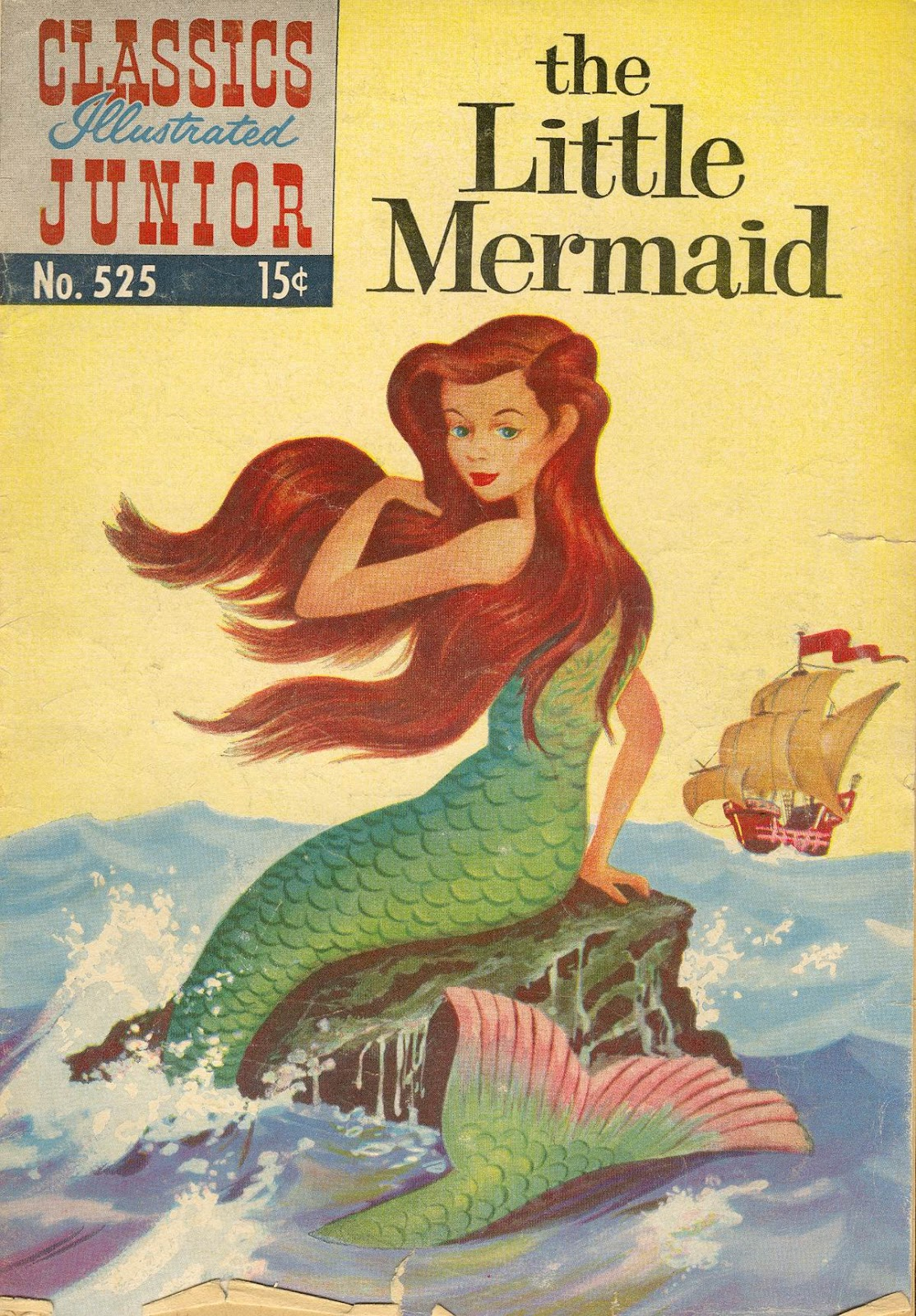 Classics Illustrated Junior 525 Page 1