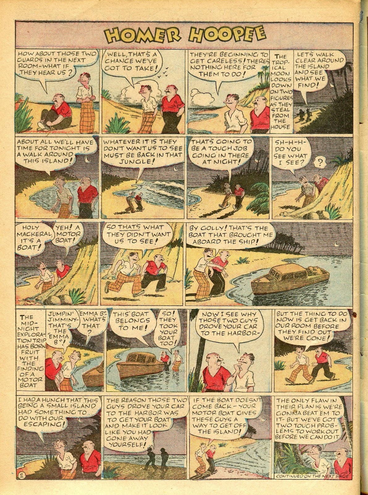 Read online Famous Funnies comic -  Issue #42 - 57