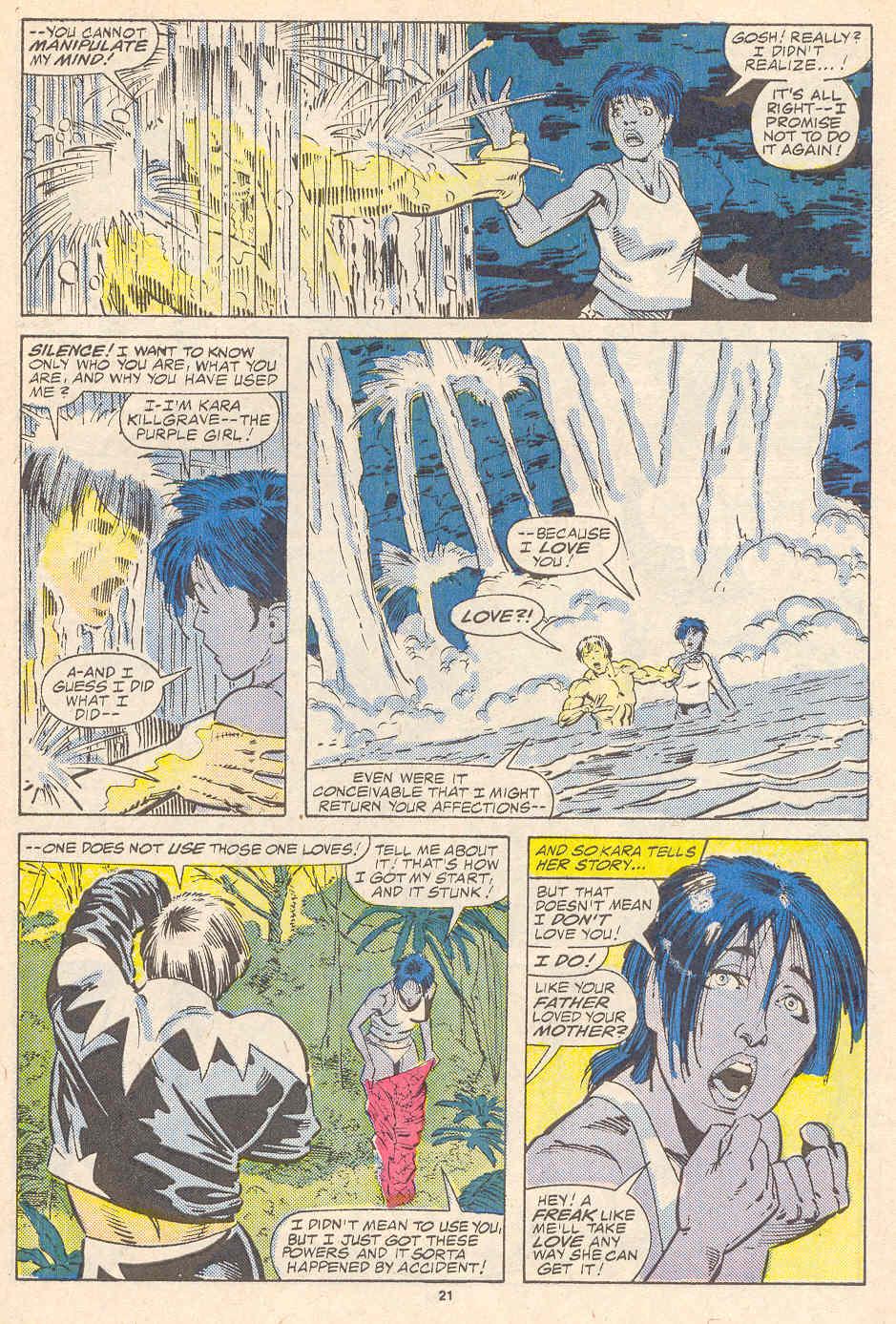 Read online Alpha Flight (1983) comic -  Issue #41 - 22