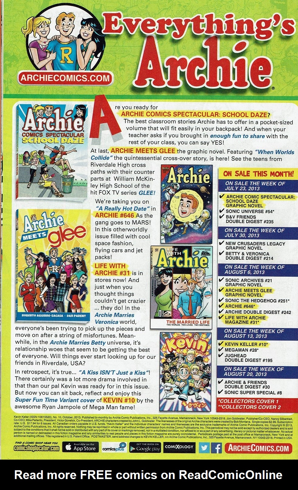 Read online Kevin Keller comic -  Issue #10 - 35