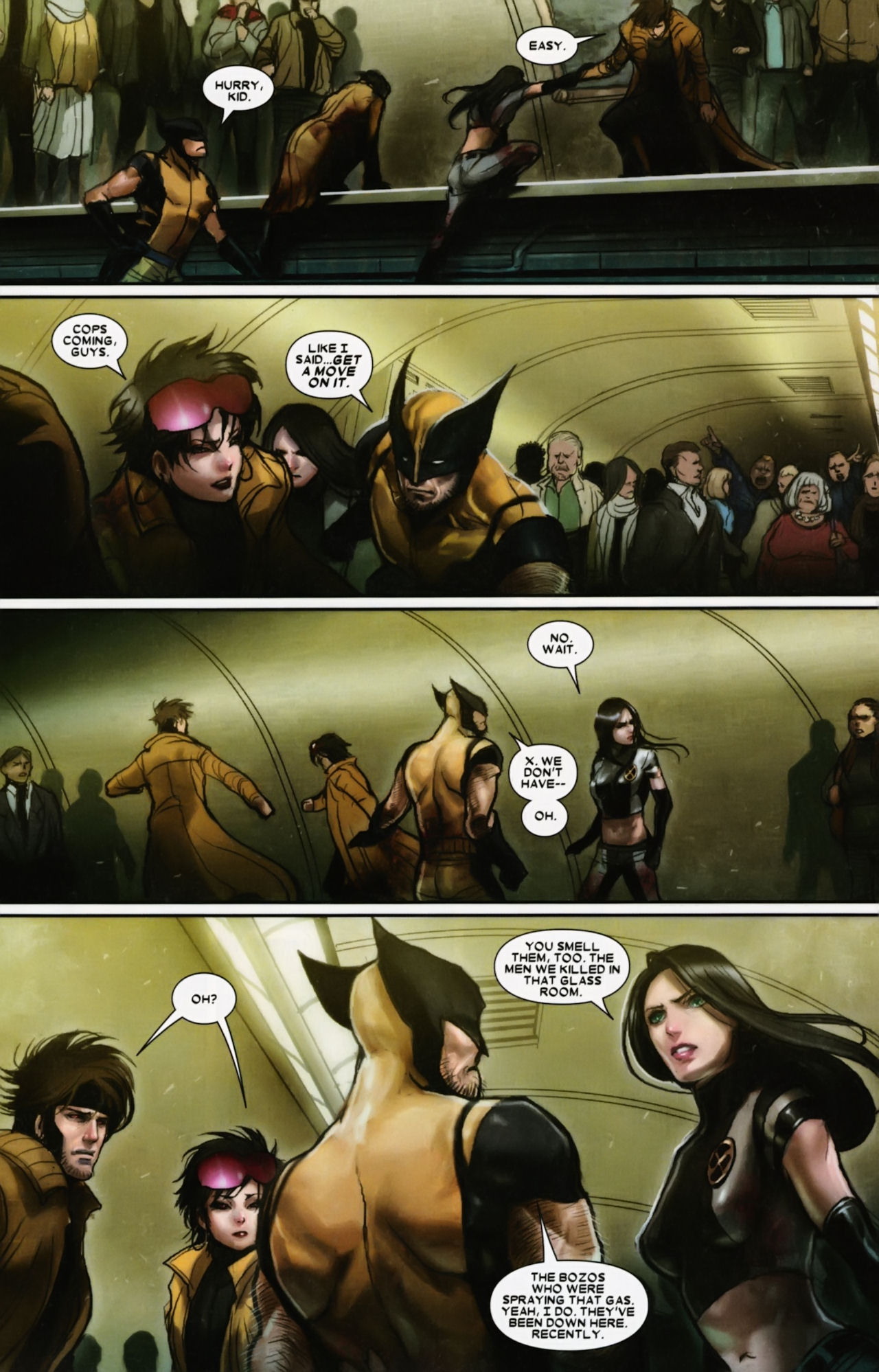 Read online X-23 (2010) comic -  Issue #12 - 7