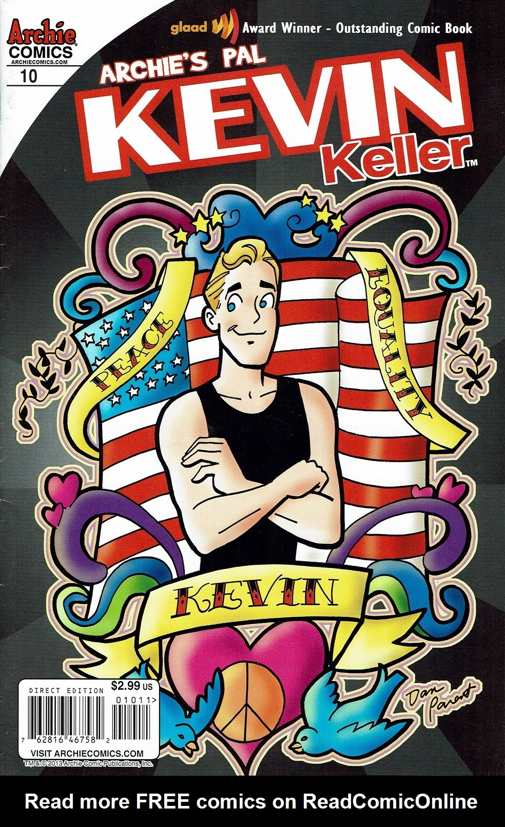 Read online Kevin Keller comic -  Issue #10 - 1