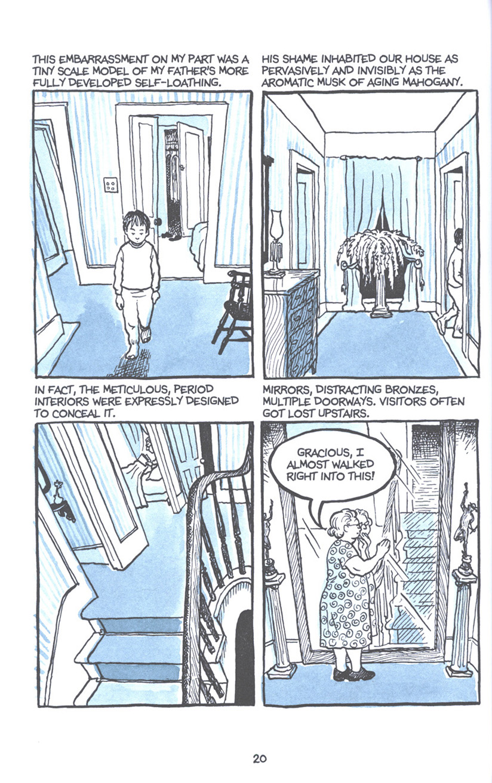 Read online Fun Home: A Family Tragicomic comic -  Issue # TPB - 27