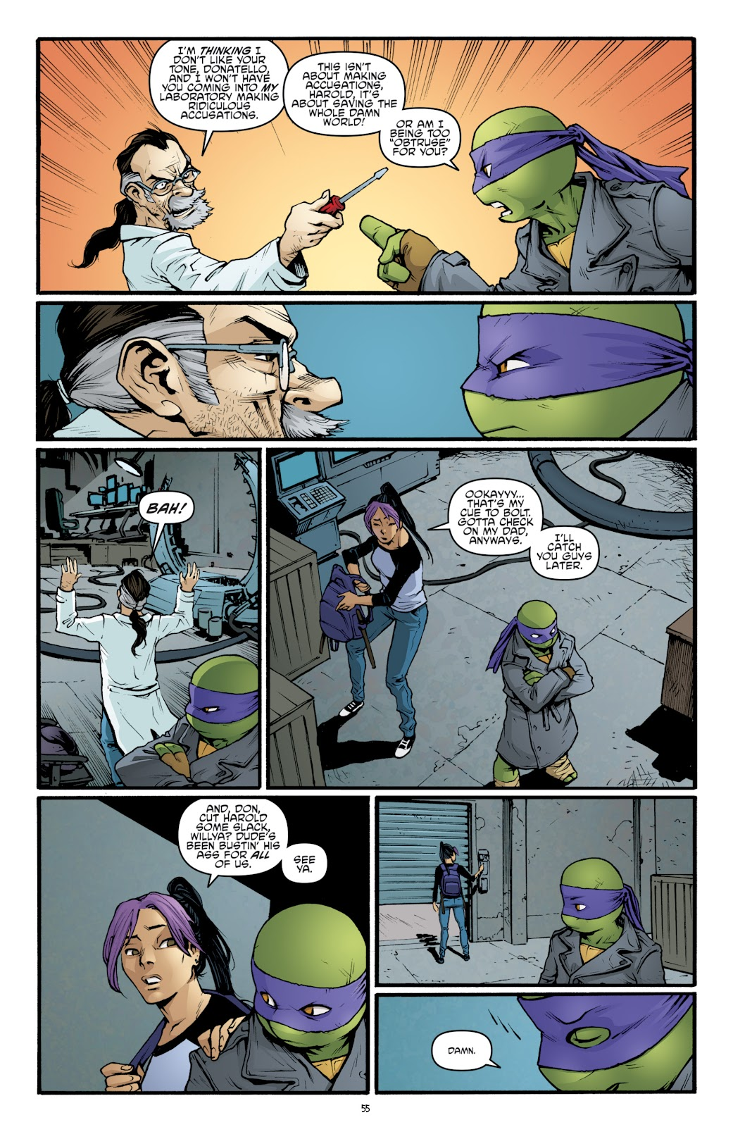 Read online Teenage Mutant Ninja Turtles: The IDW Collection comic -  Issue # TPB 5 (Part 2) - 32