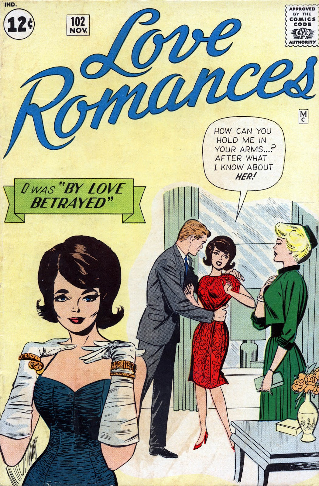 Love Romances (1949) issue 102 - Page 1