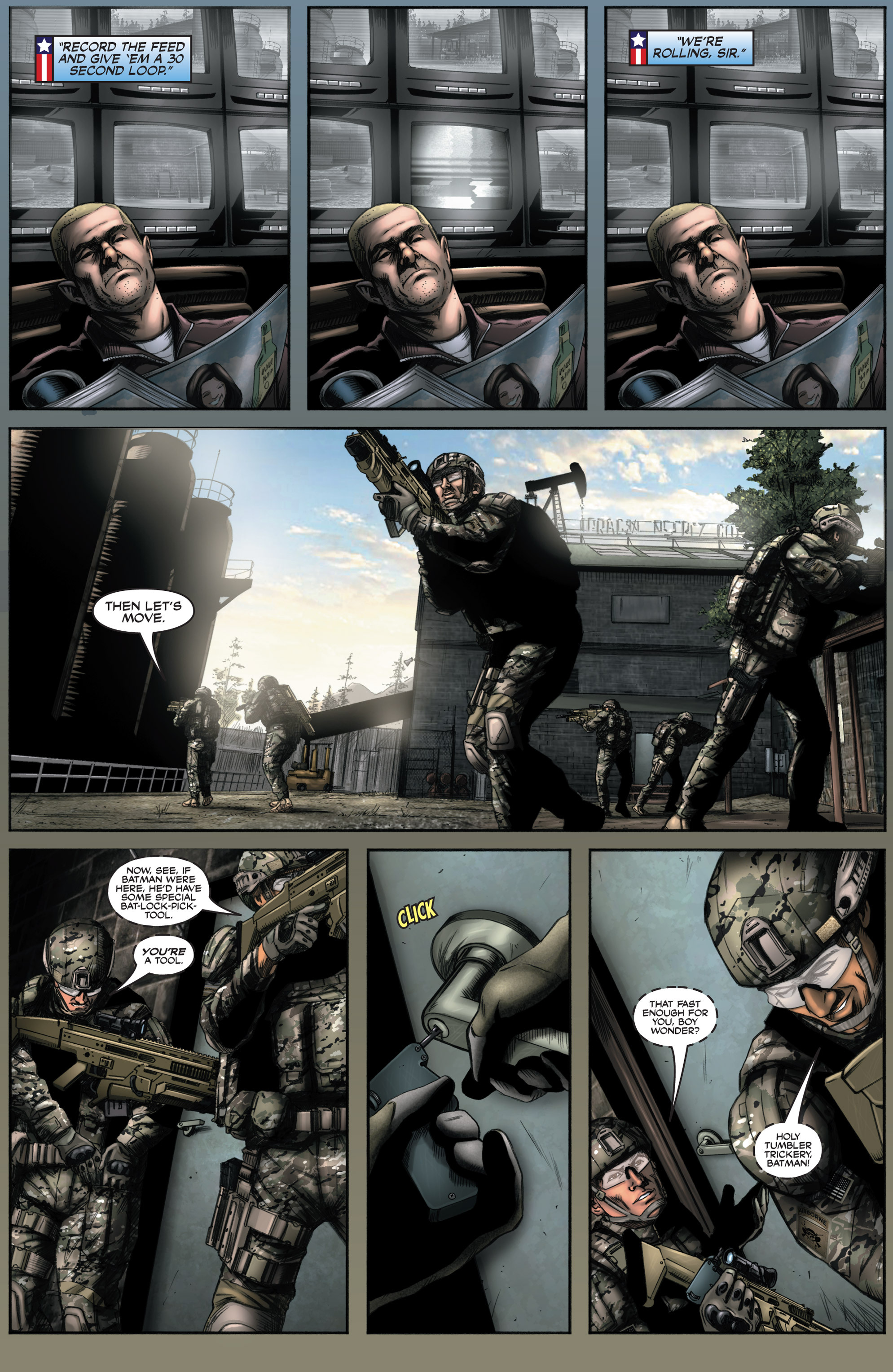 Read online America's Army comic -  Issue #8 - 16