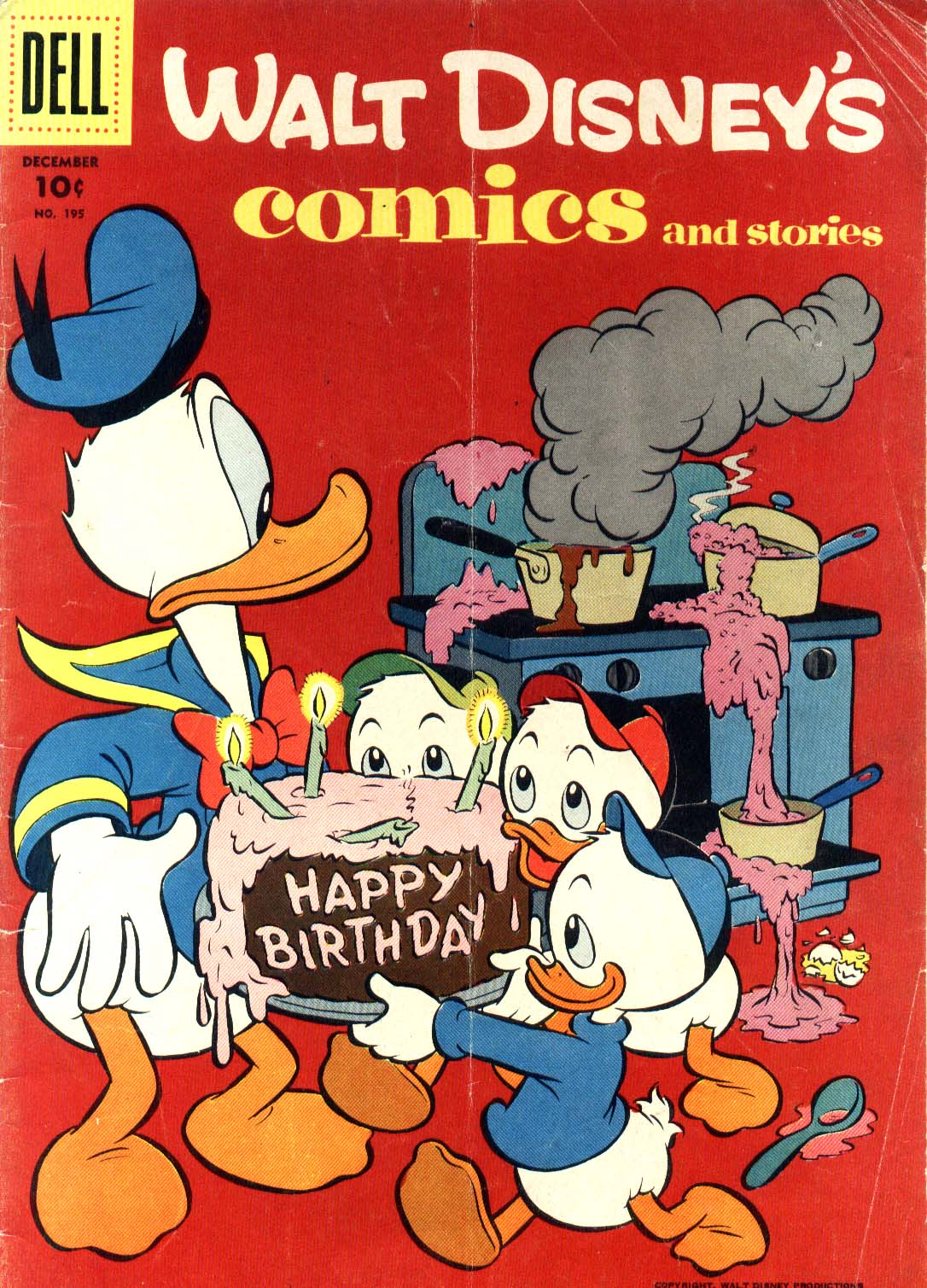 Walt Disney's Comics and Stories issue 195 - Page 1