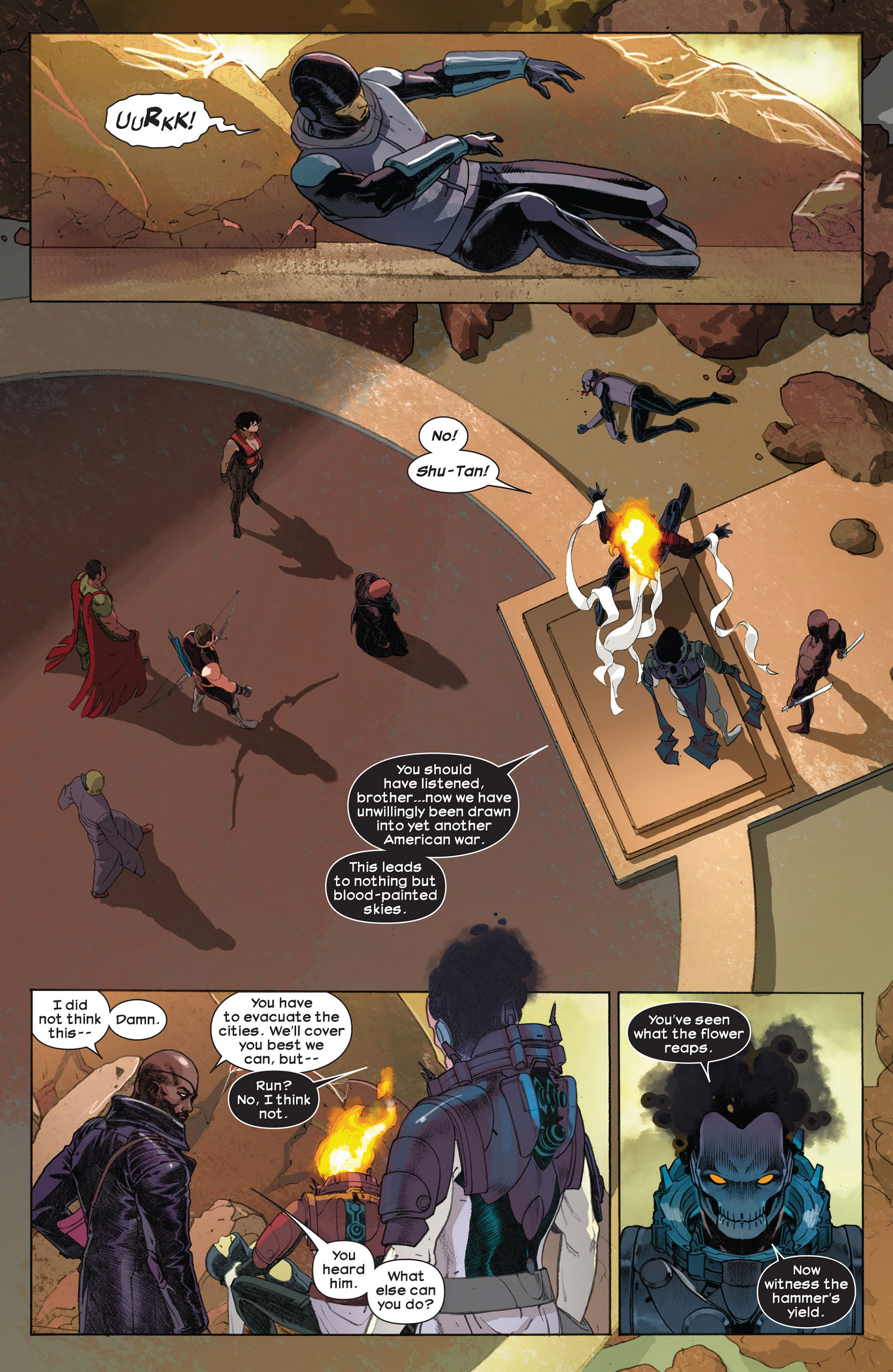 Read online Ultimate Comics Ultimates comic -  Issue #7 - 15