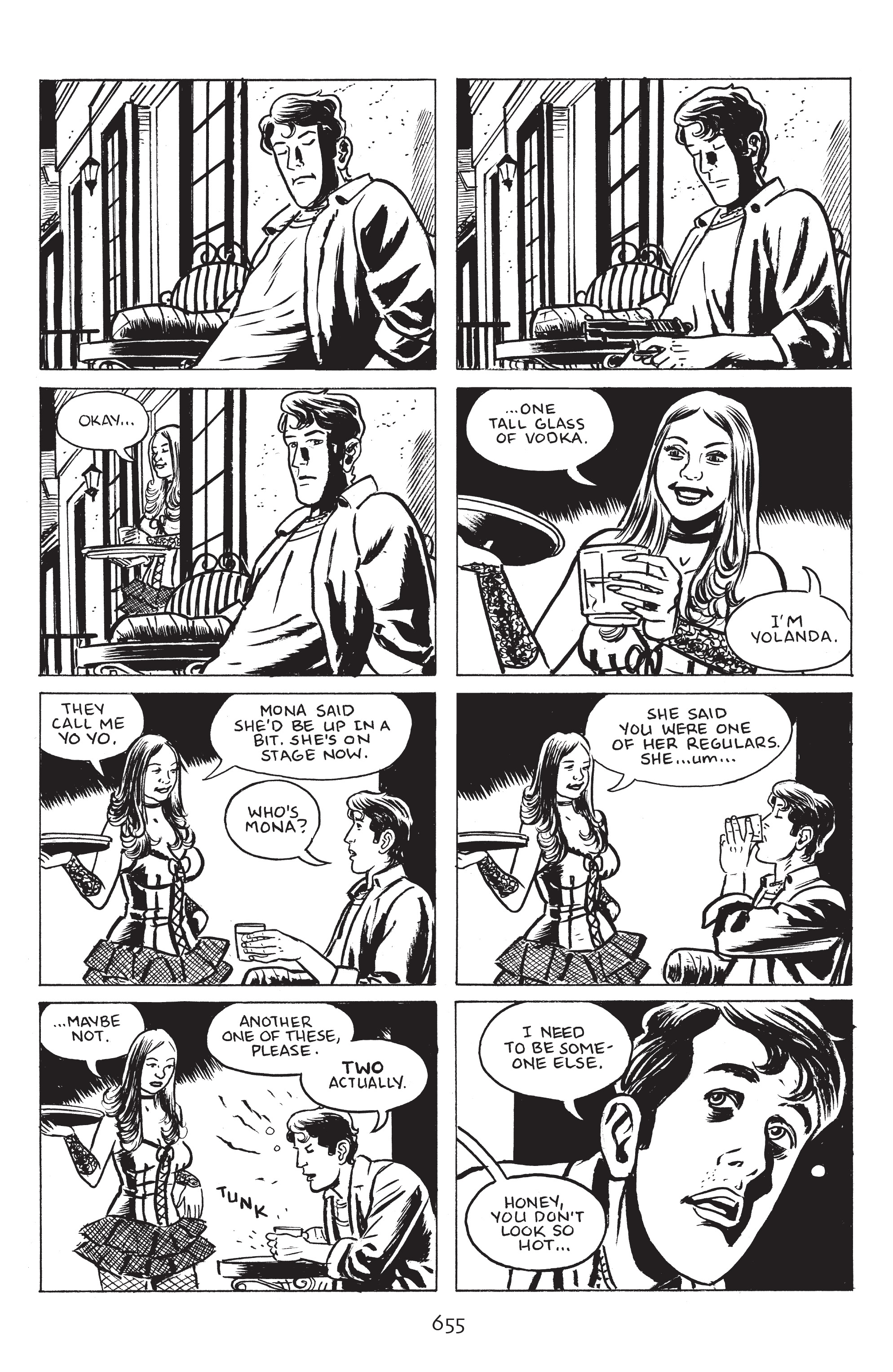 Read online Stray Bullets: Sunshine & Roses comic -  Issue #24 - 10