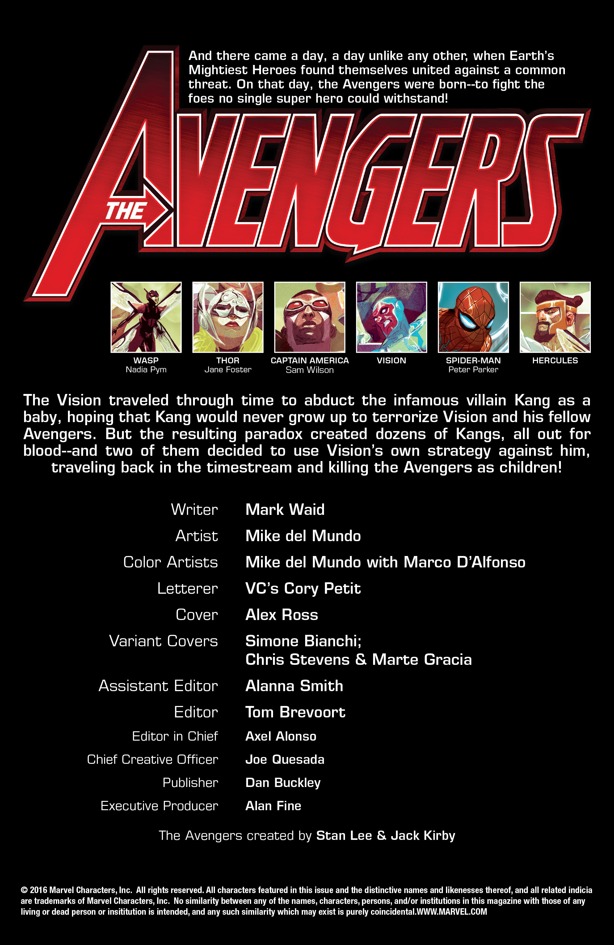 Read online Avengers (2016) comic -  Issue #2 - 5