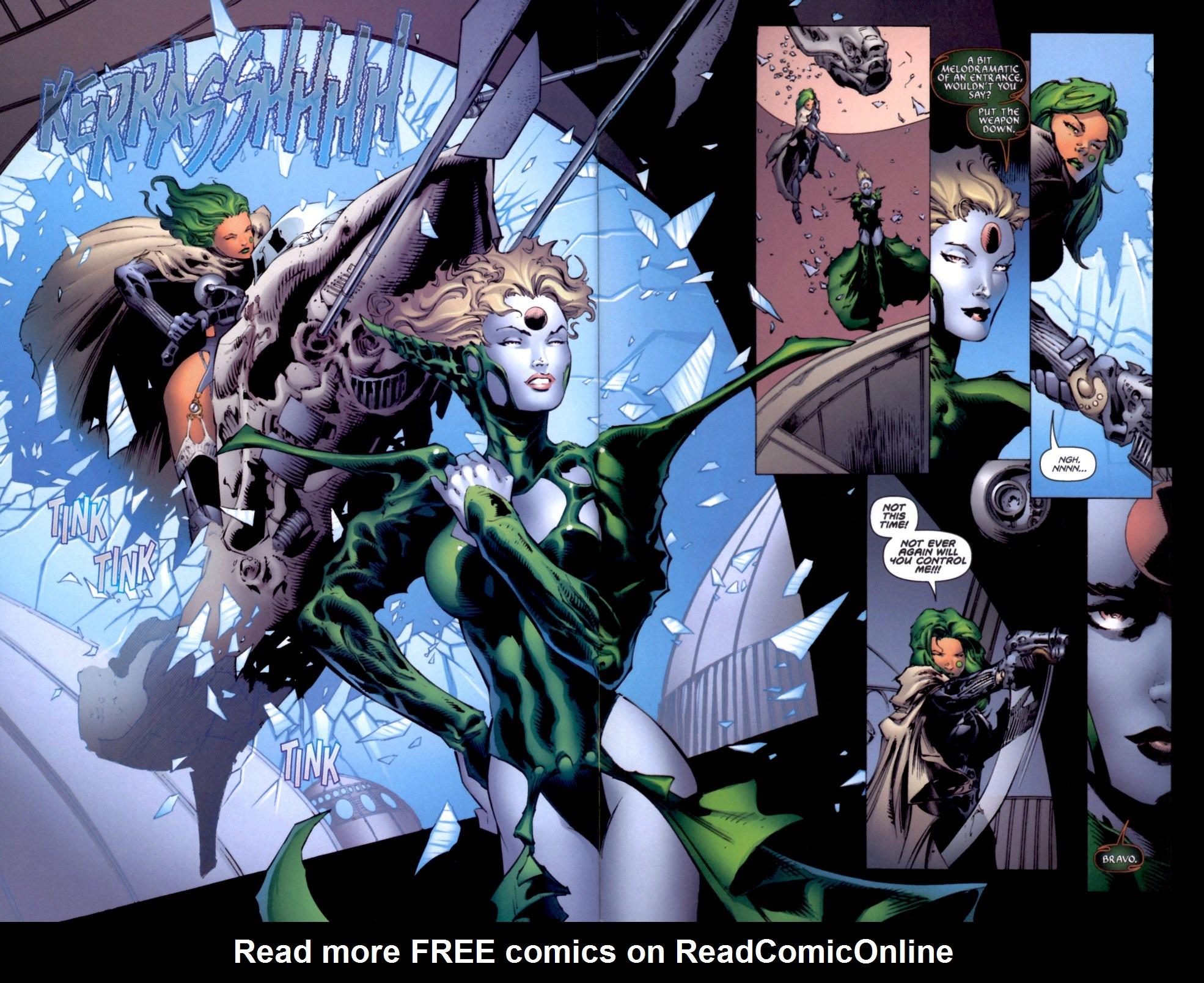 Read online Aphrodite IX (2000) comic -  Issue #4 - 33