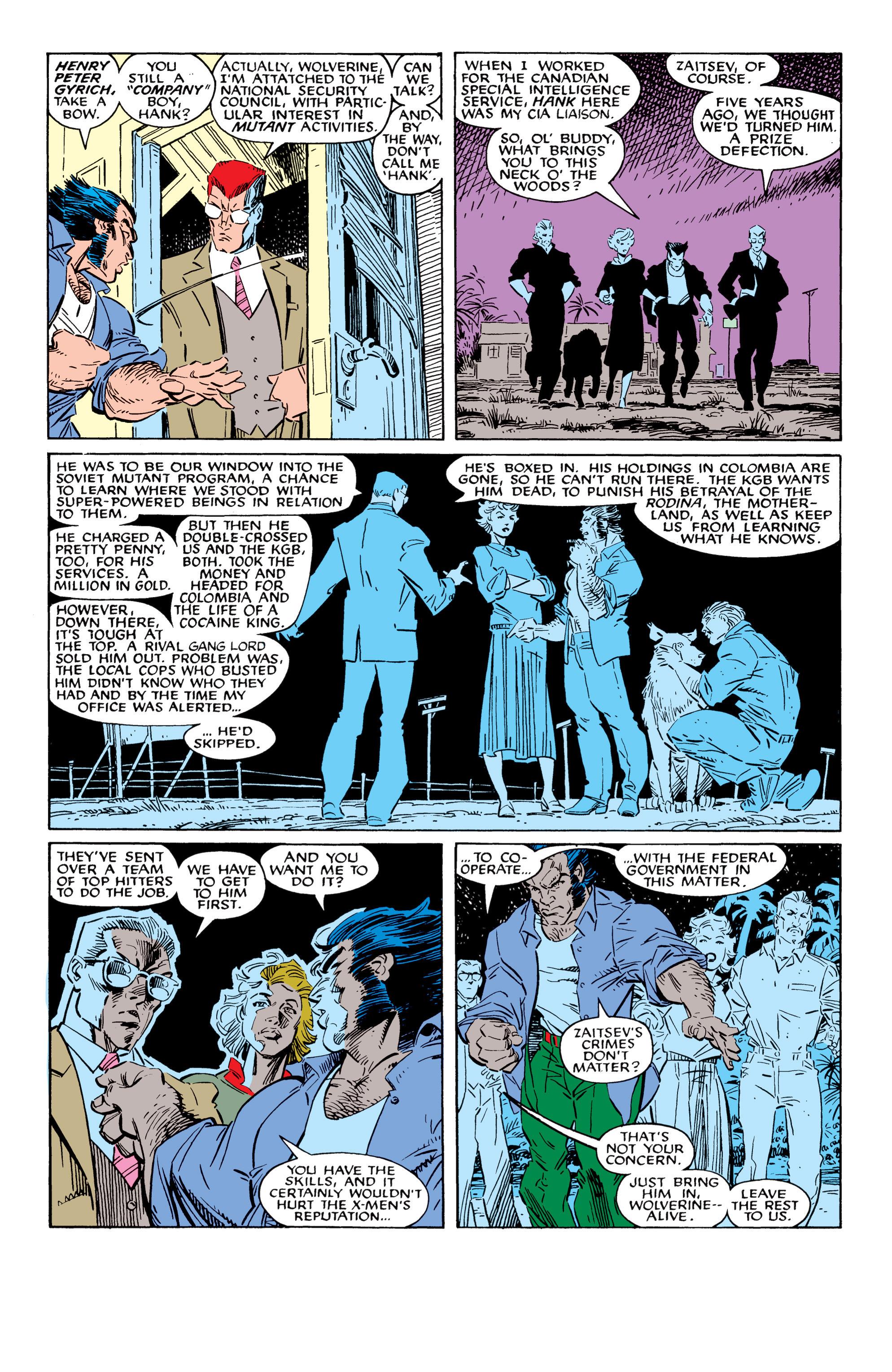 Read online Uncanny X-Men (1963) comic -  Issue #228 - 17
