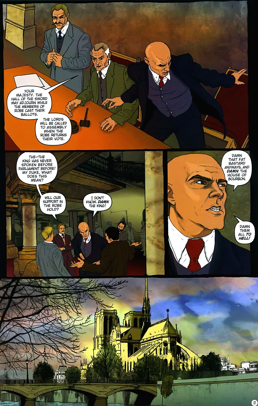 Read online Rex Mundi comic -  Issue #15 - 21