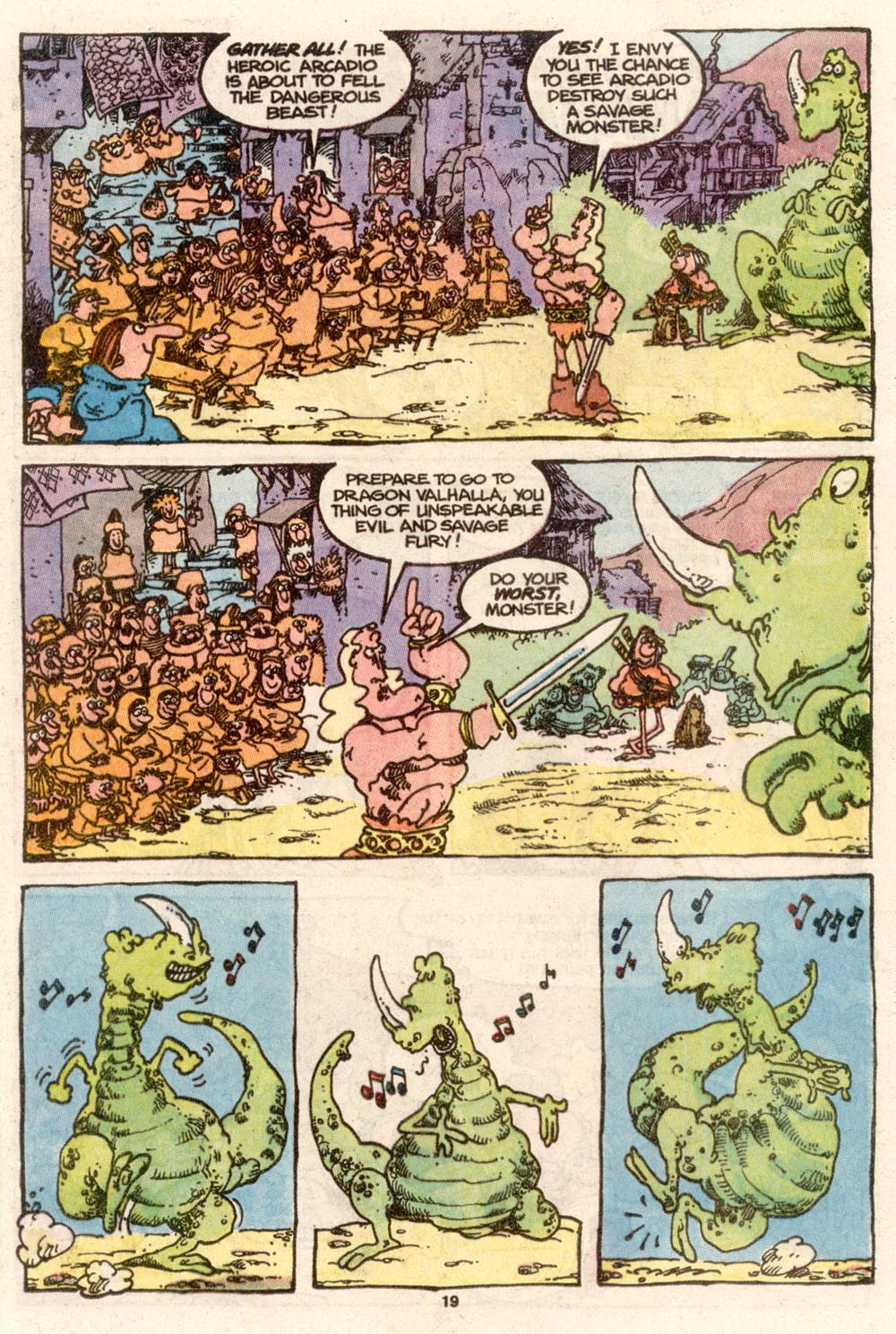 Read online Sergio Aragonés Groo the Wanderer comic -  Issue #68 - 15